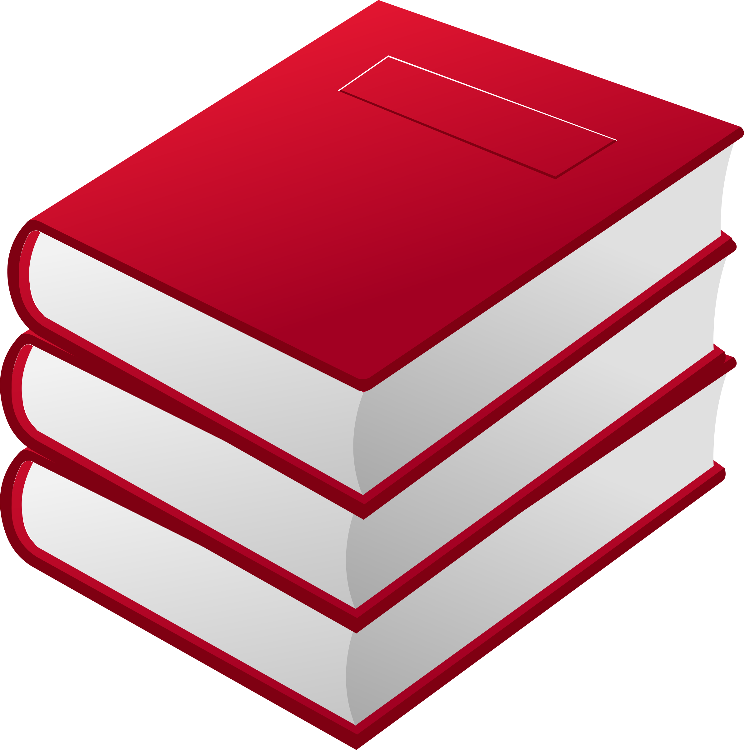 3 red books by dynnamitt