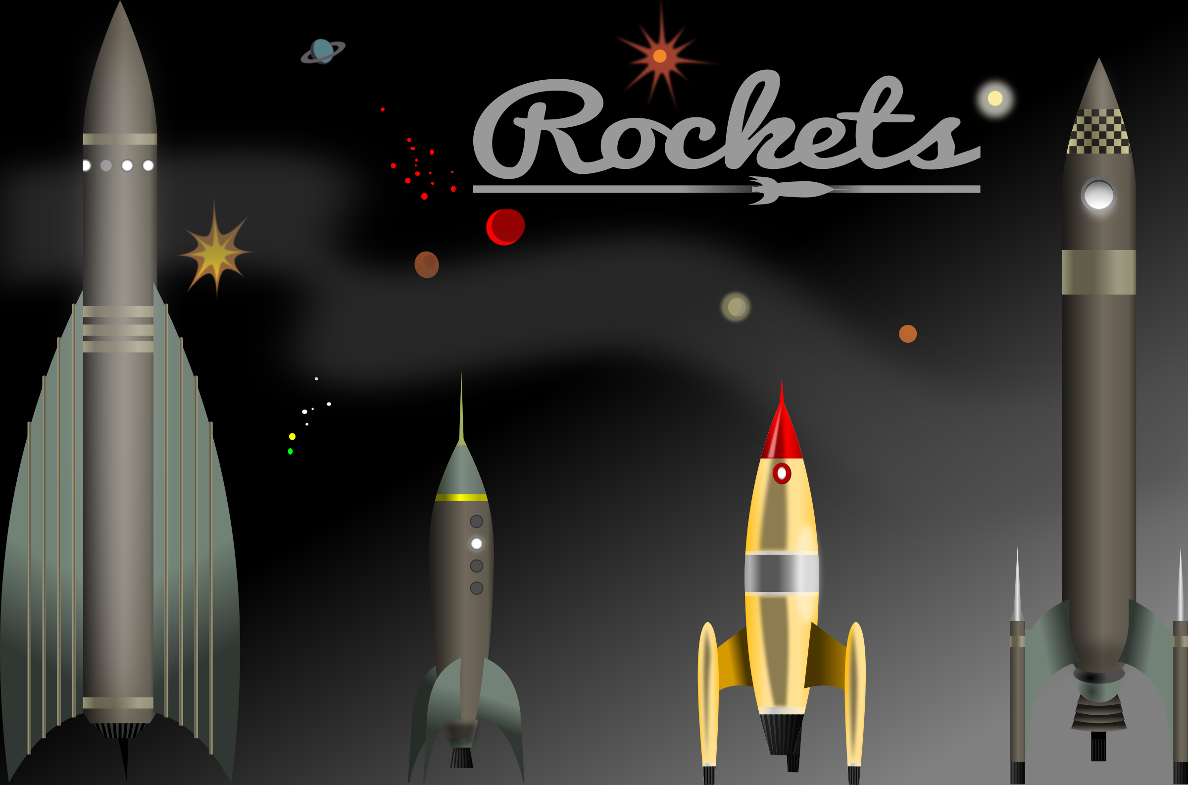 Rockets by conte magnus