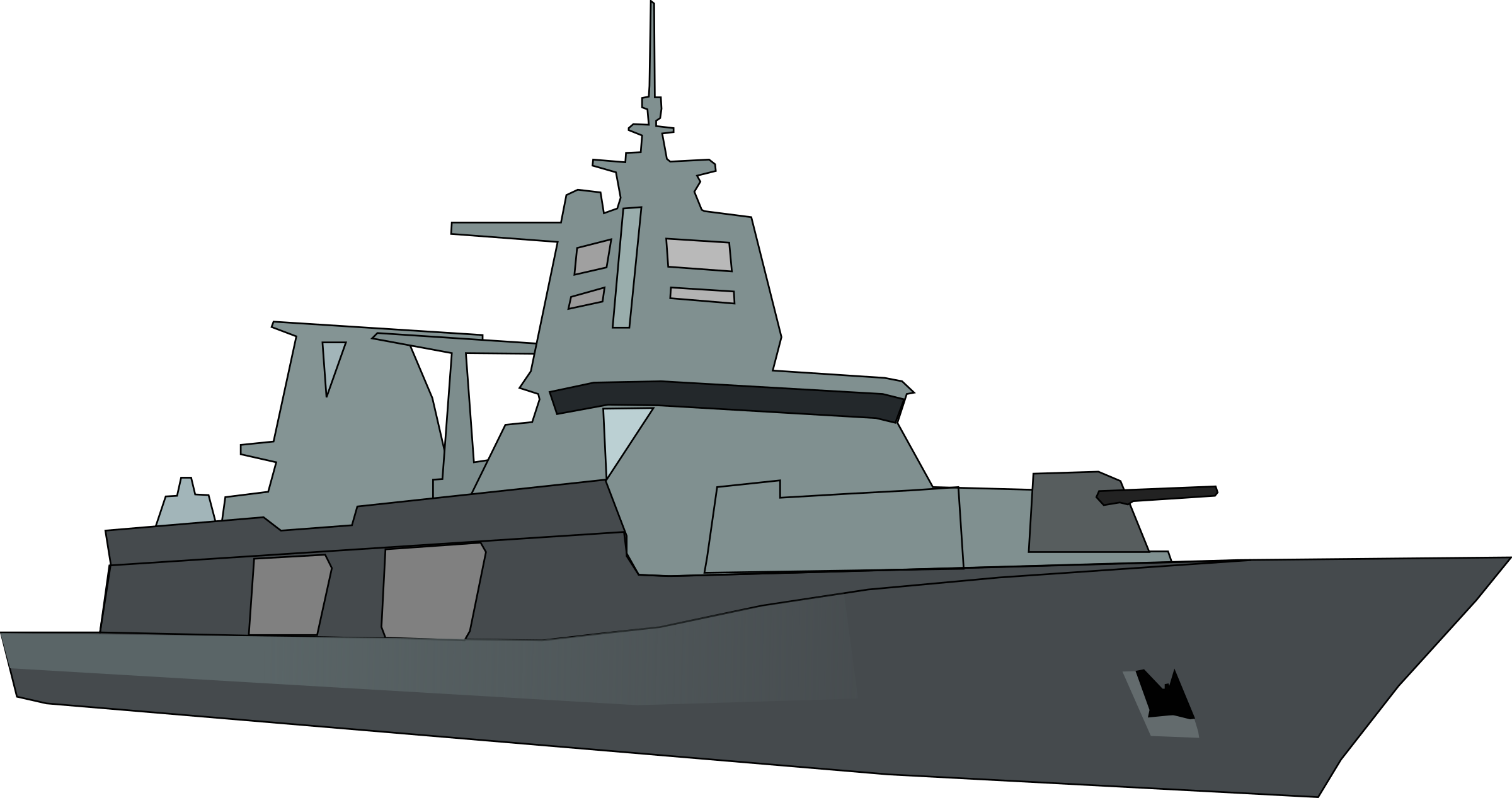 German Bundeswehr frigate by JPortugall