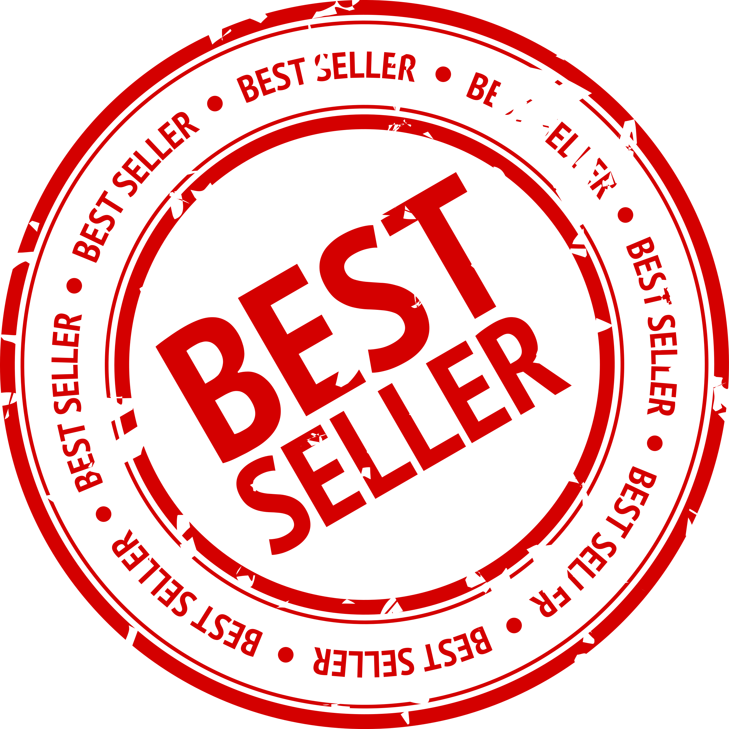 Best Seller Stamp by grin
