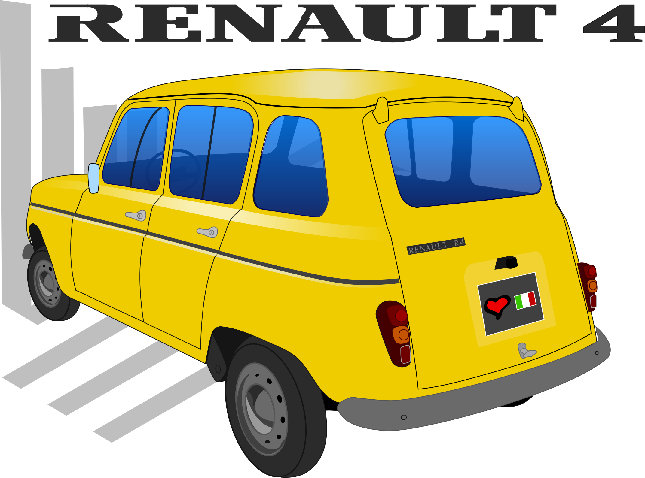 Renault 4TL by martin74