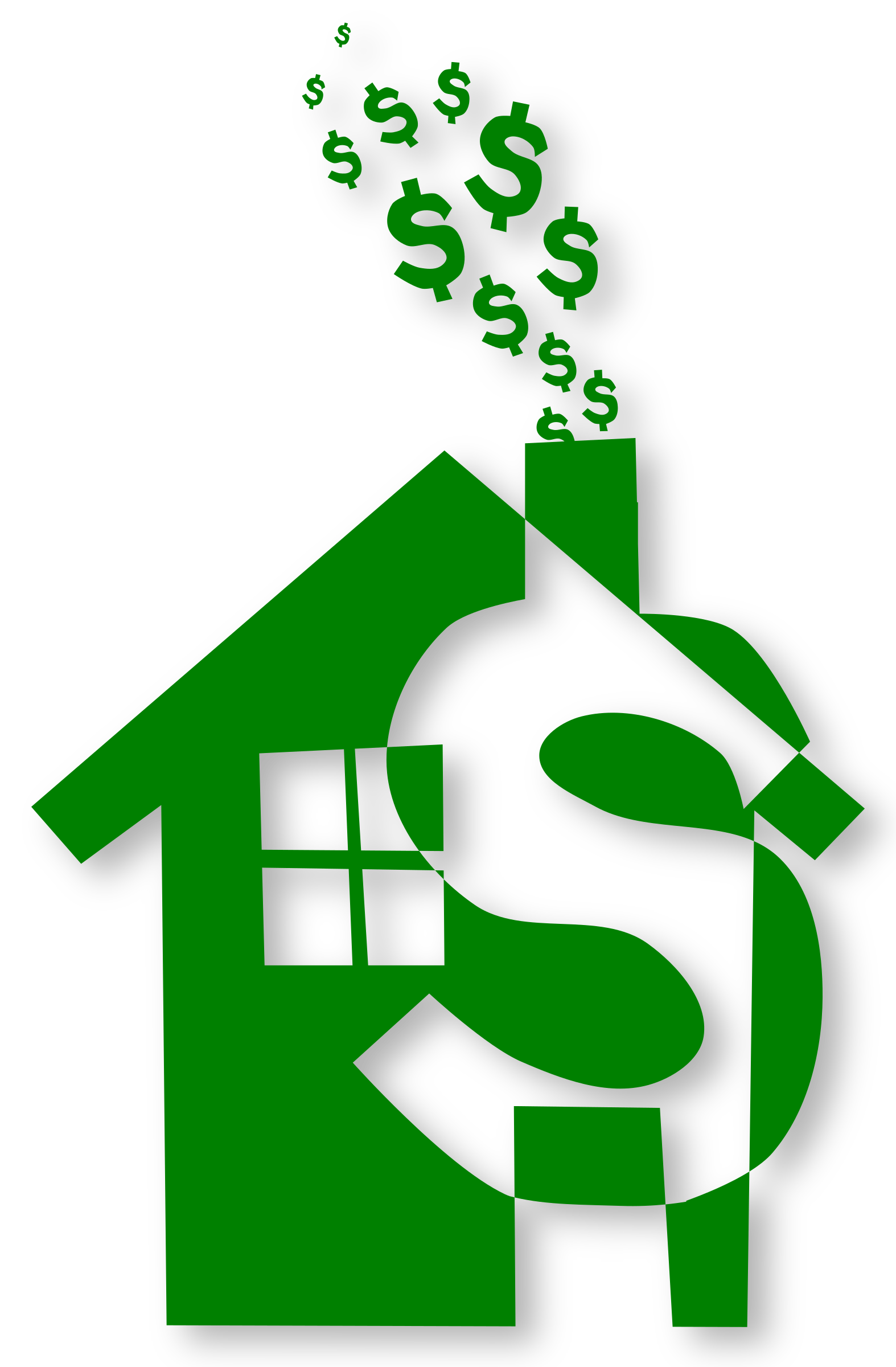 Clipart - Home expense