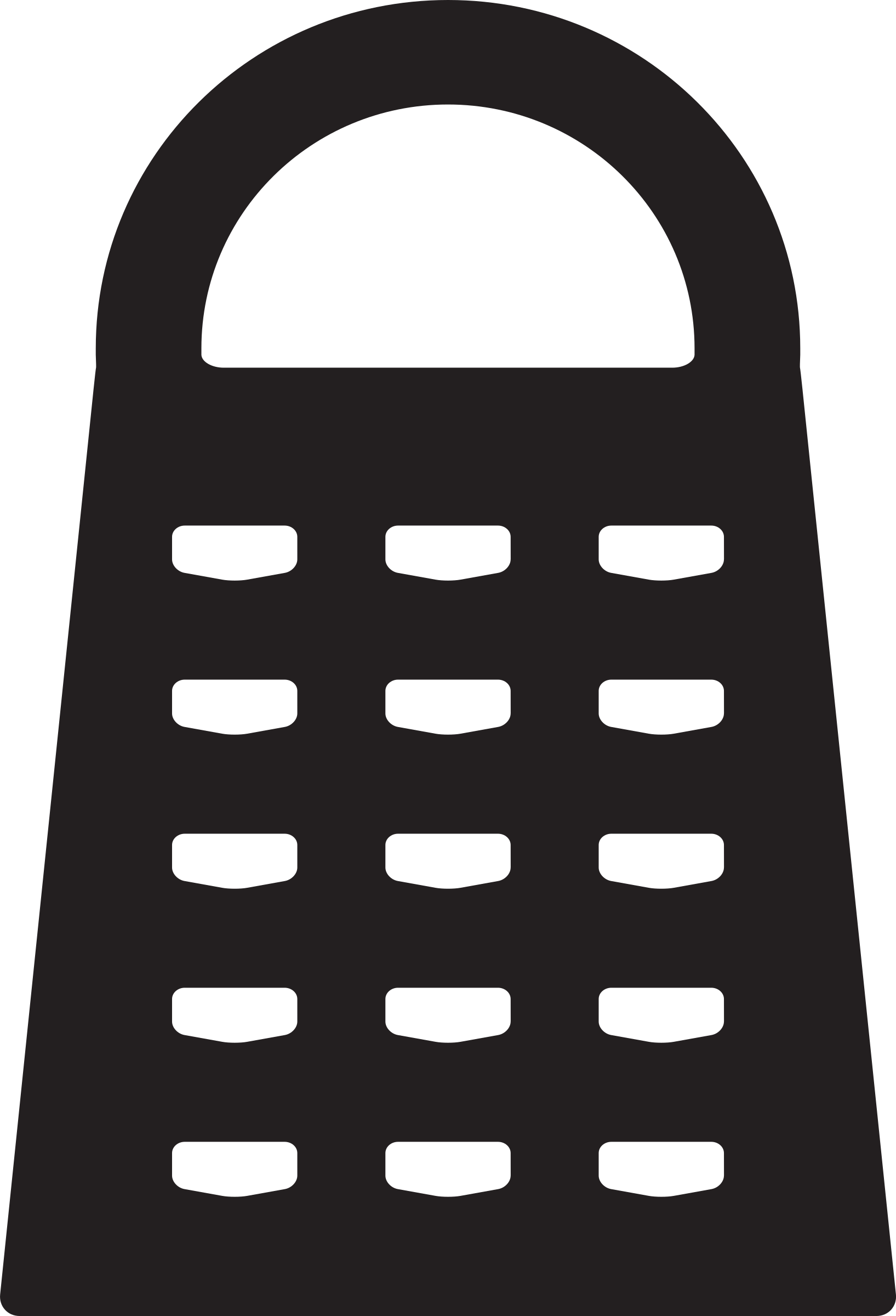 Kitchen Icon - Grater by StudioFibonacci
