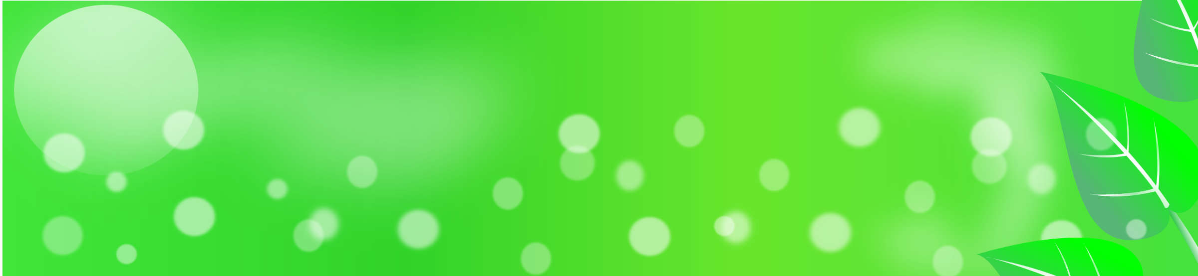 Eco-green Banner by nadiesabe