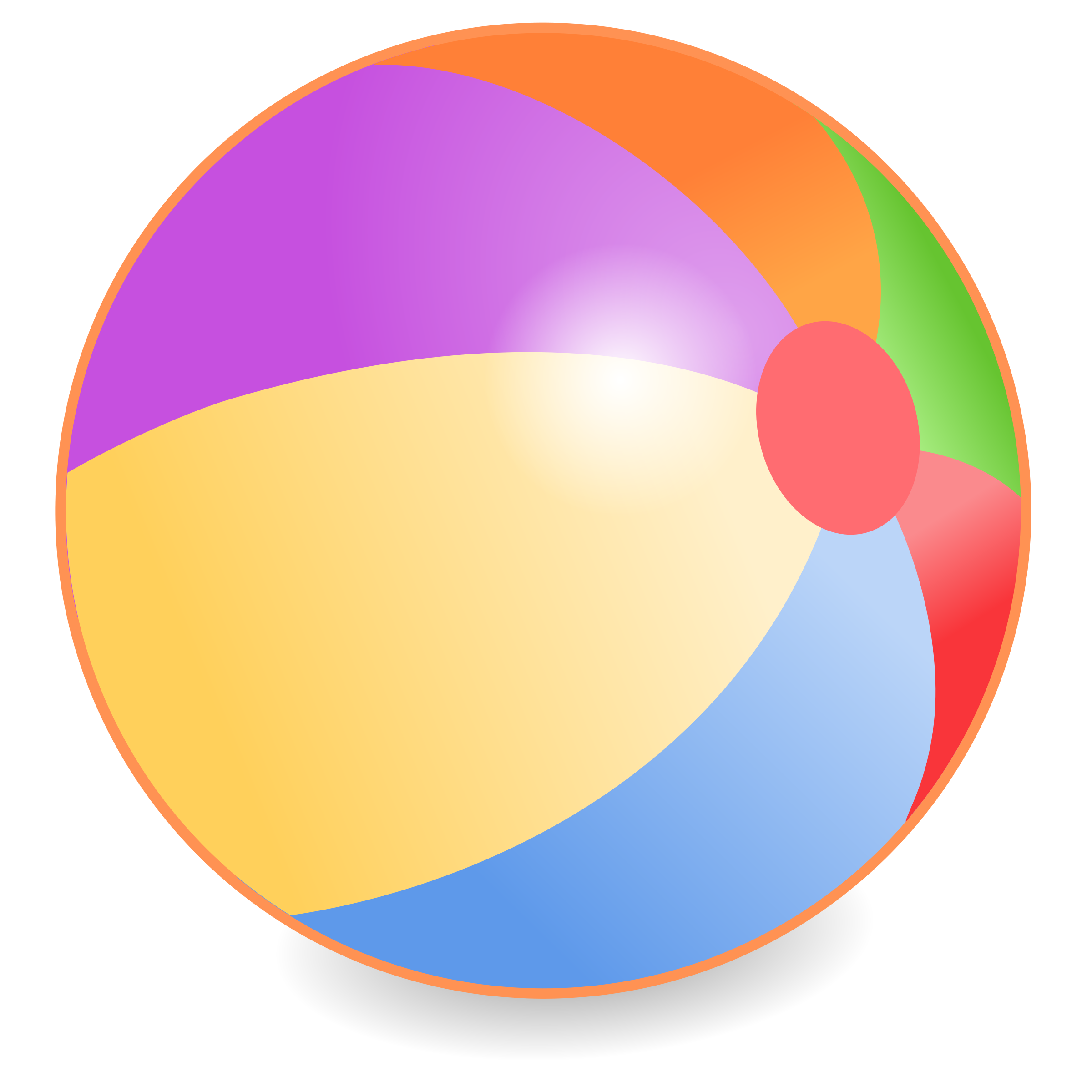 Beachball by Simanek