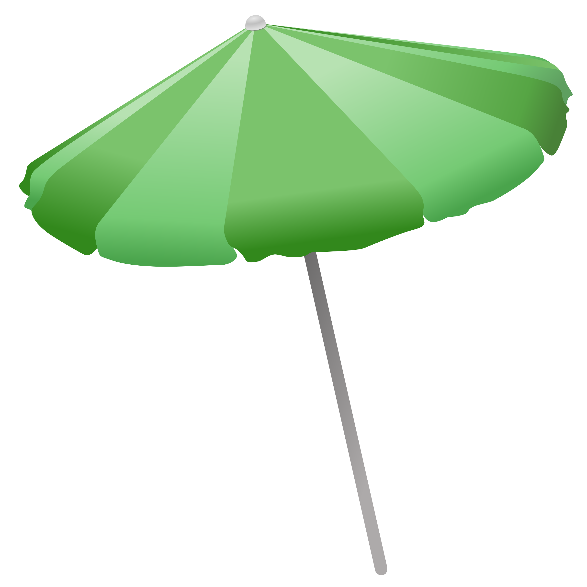 Beach Umbrella by Simanek