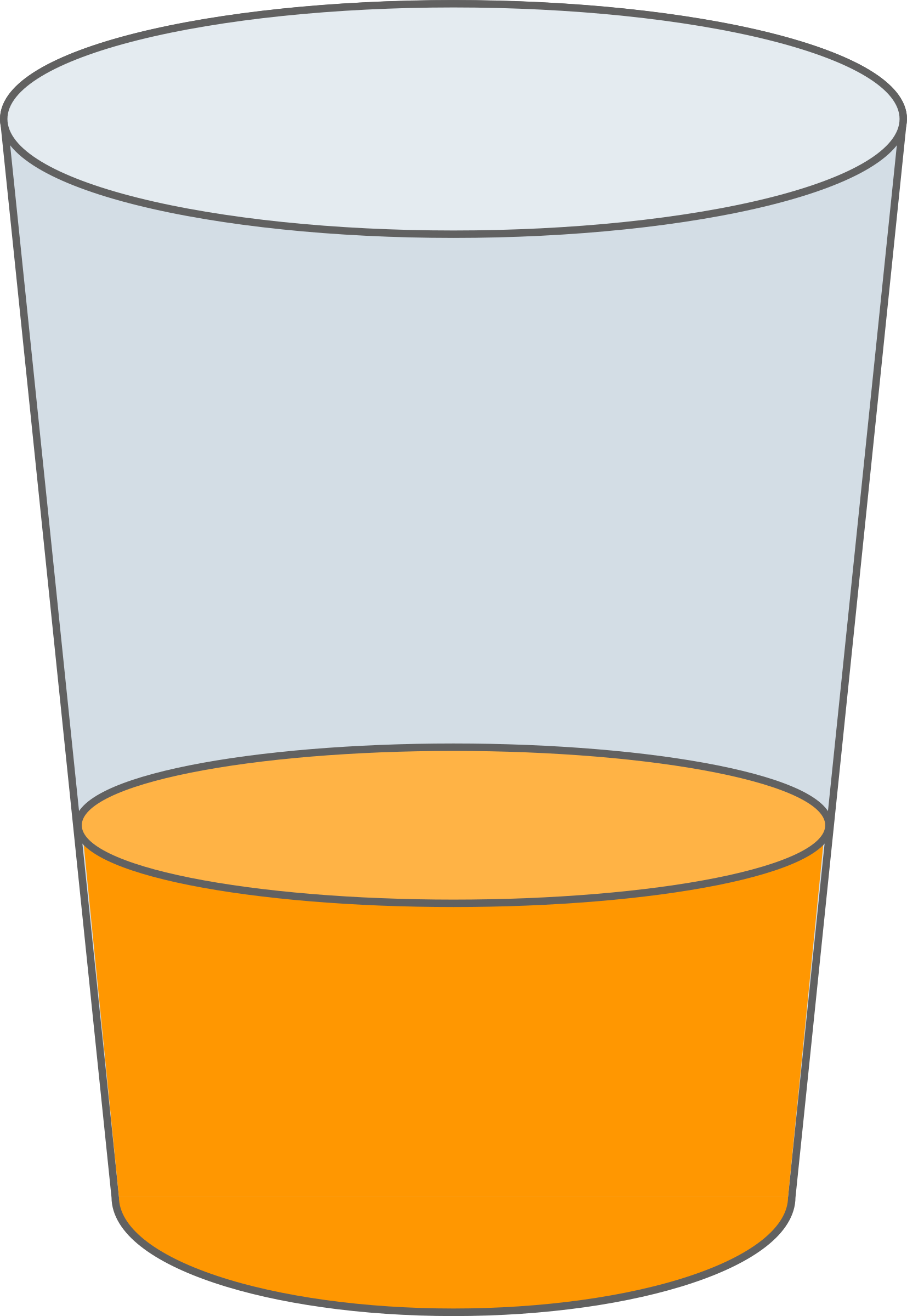 Oranje Juice Glass SVG by qubodup