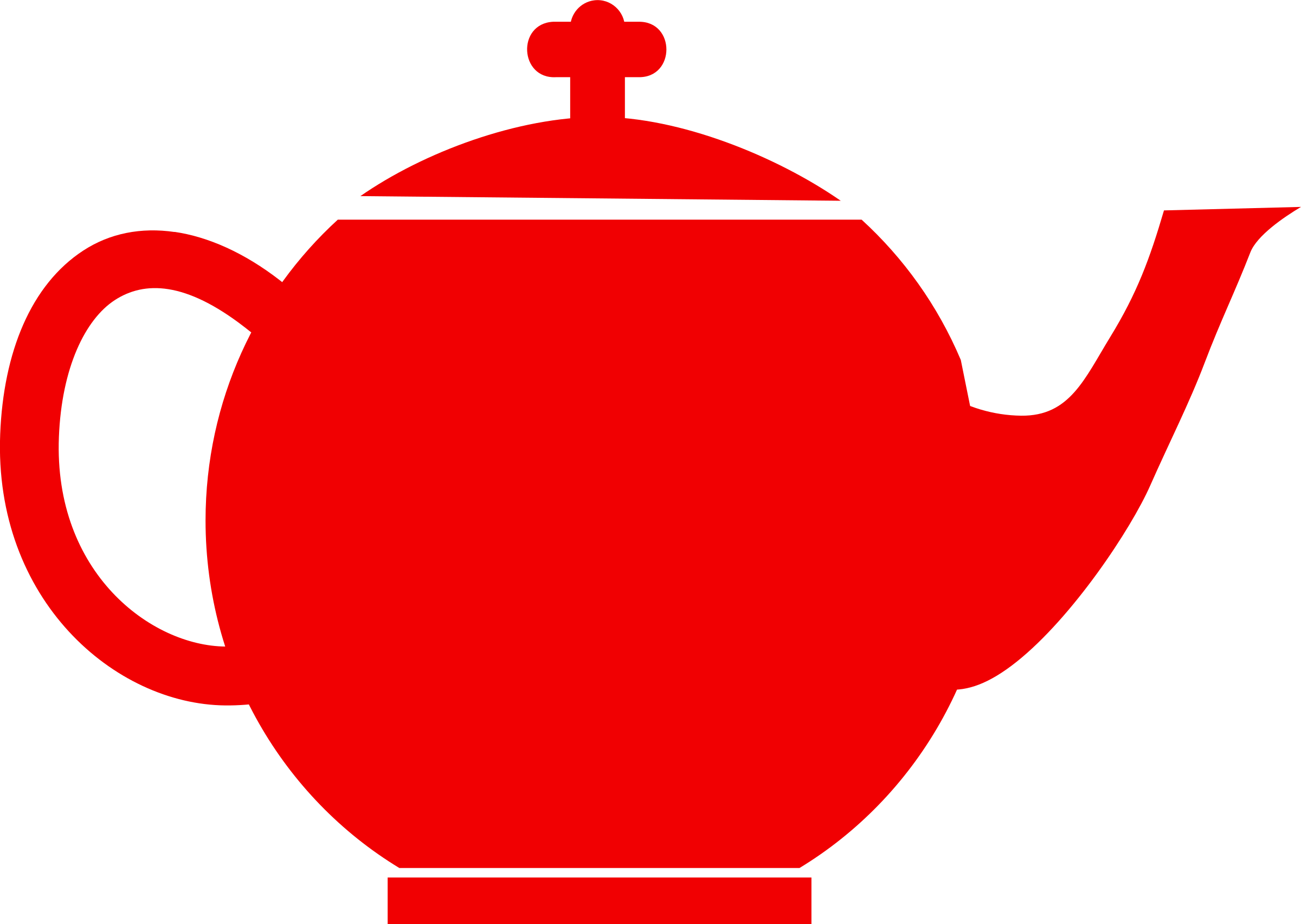 Jubilee tea pot red by mr_johnnyp