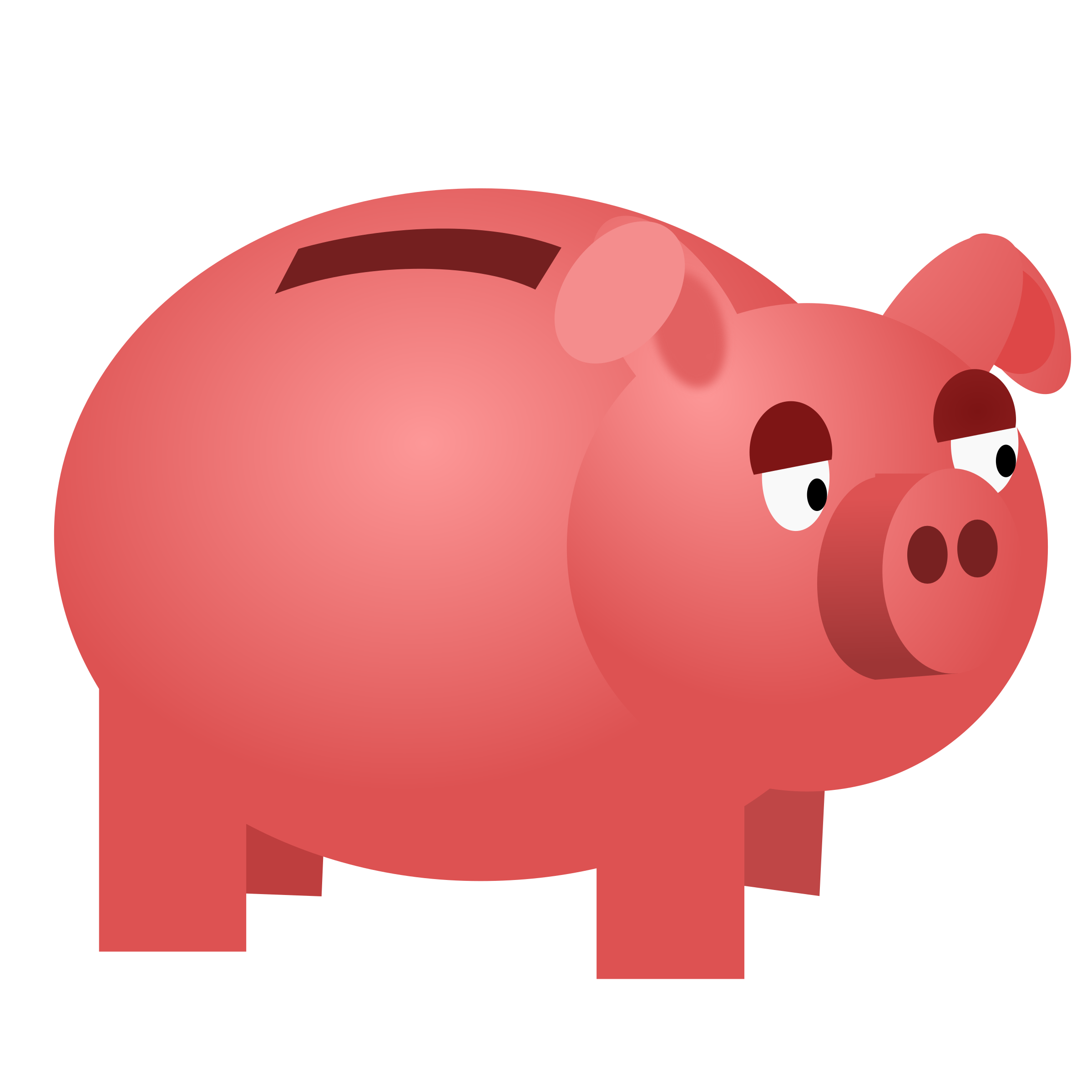 Piggy bank by vokimon