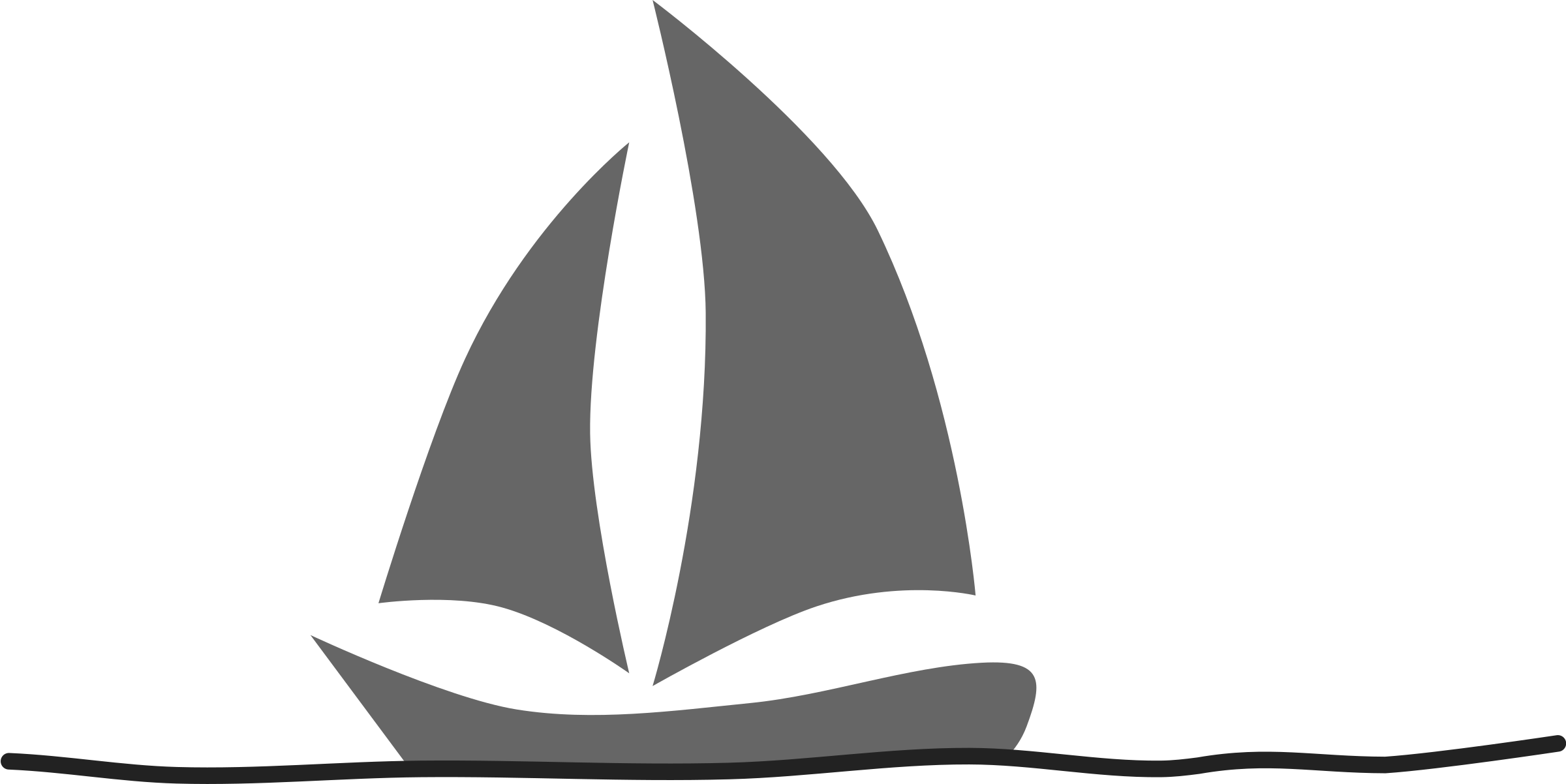 Velero. Sailboat by mediobit