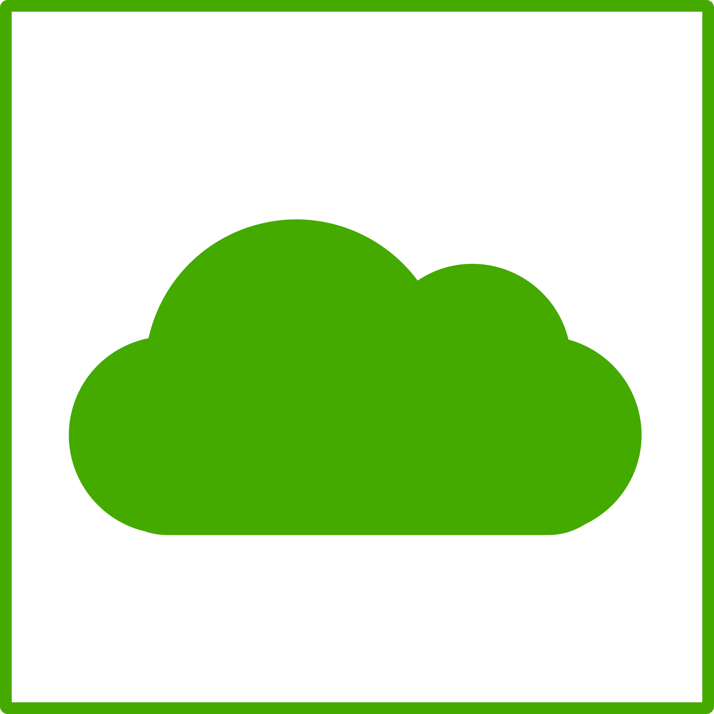eco green cloud icon by dominiquechappard