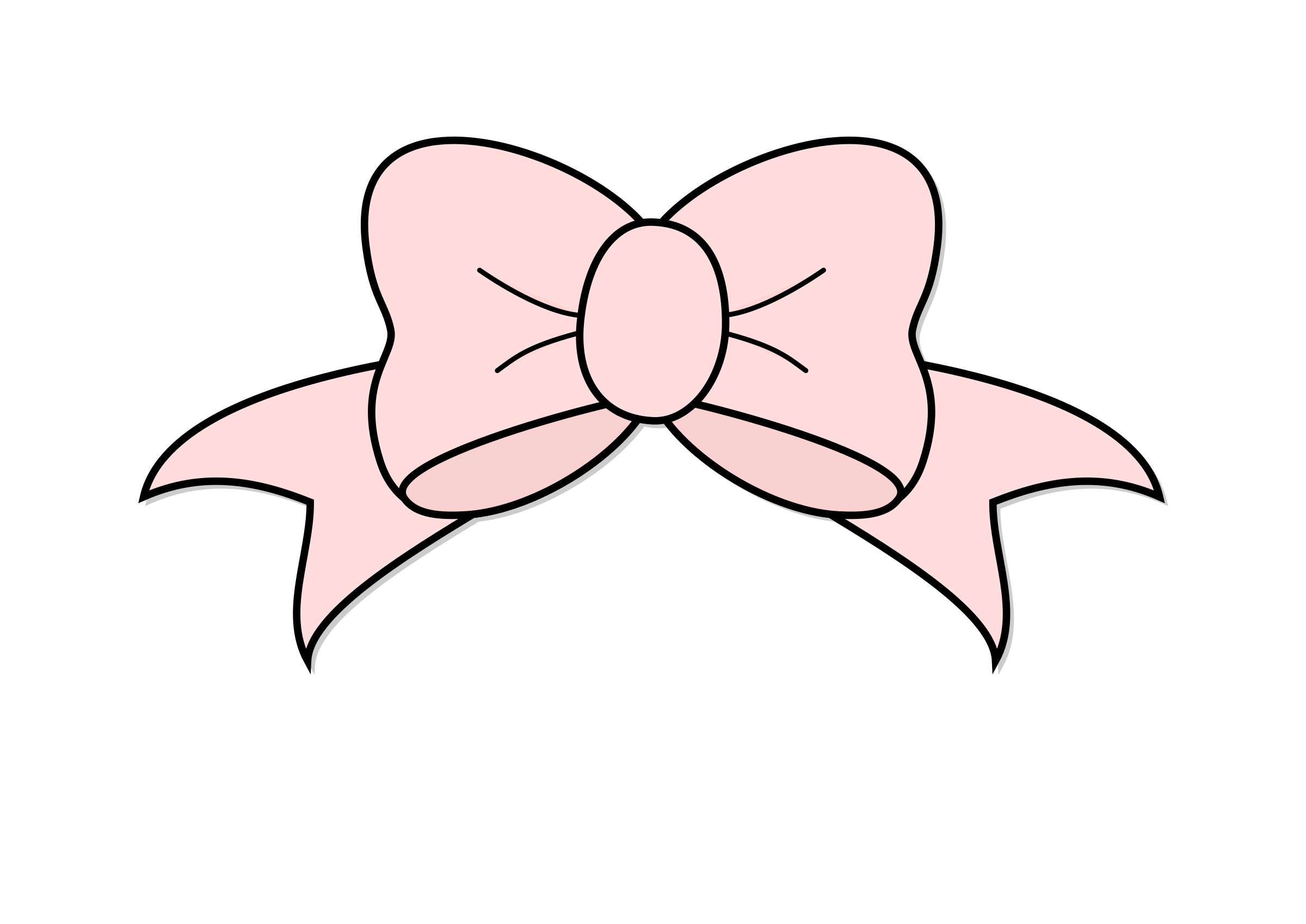 Pink Bow by Gigglish