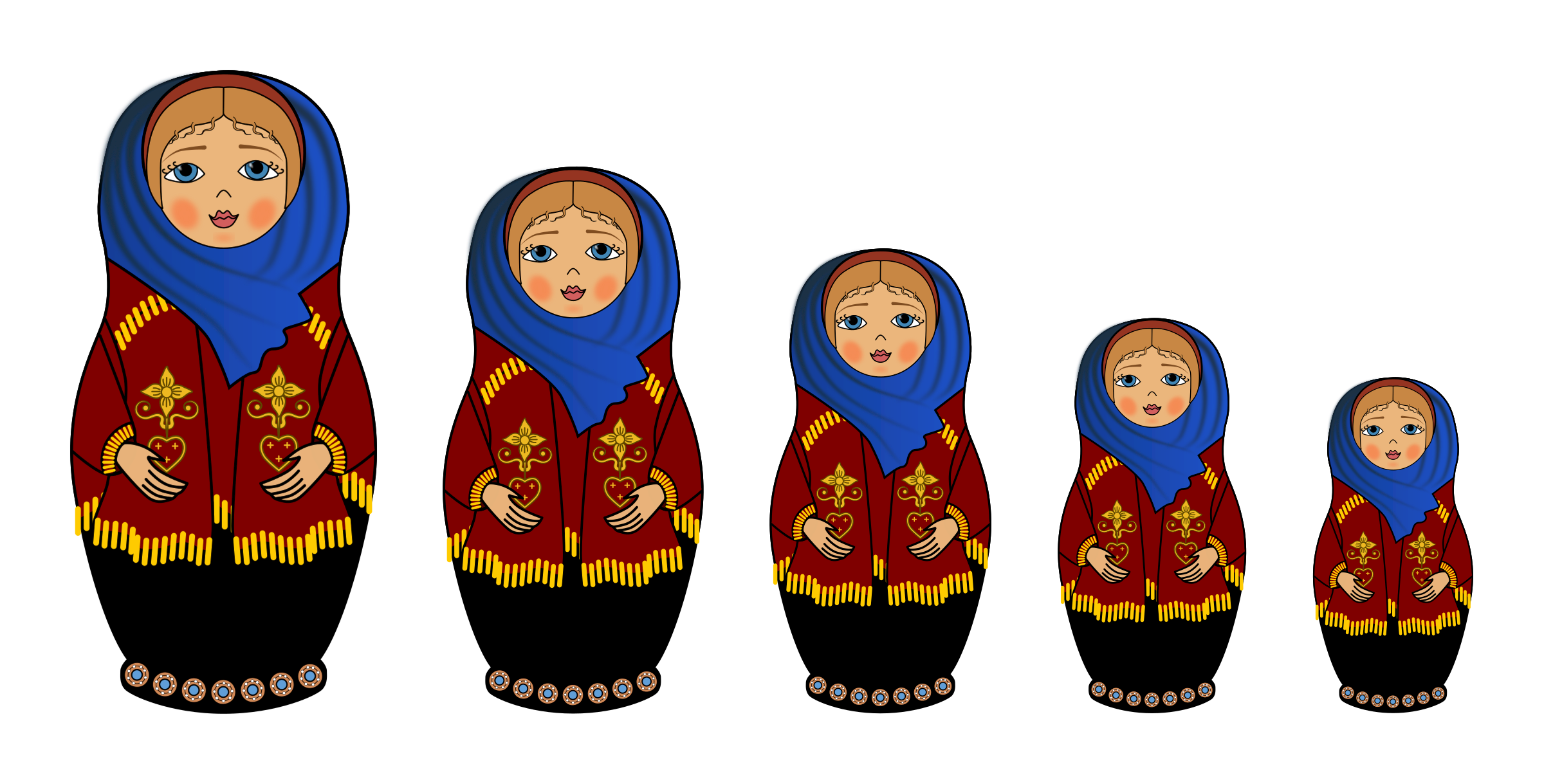 Matryoshka Doll by jimbongo