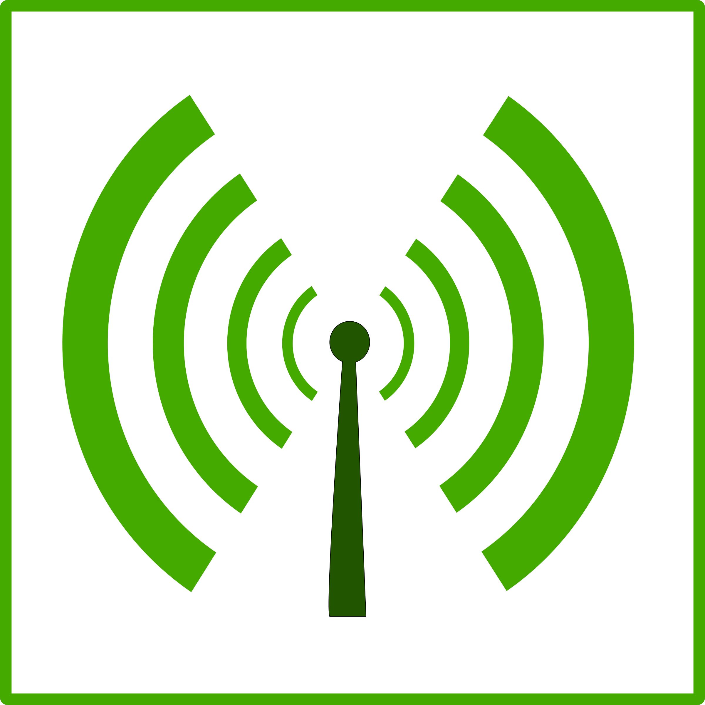 eco green wifi pollution icon by dominiquechappard