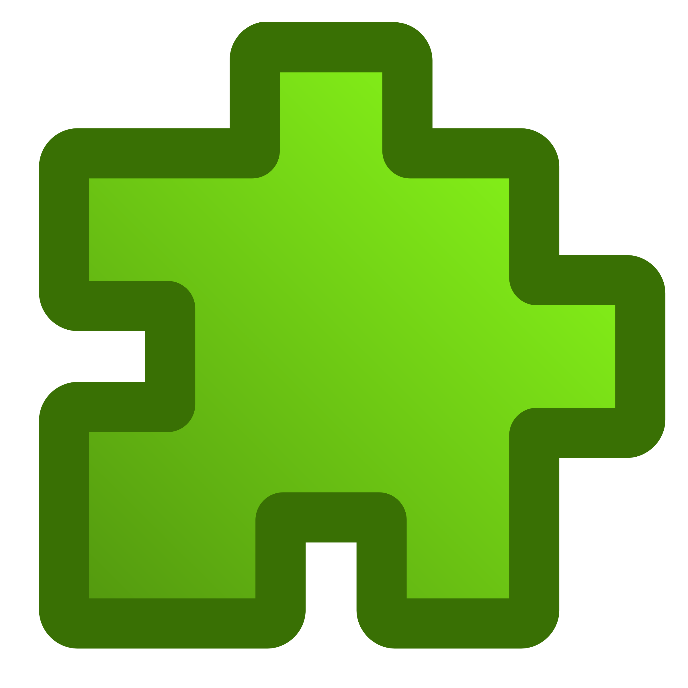 icon-puzzle-green by jean_victor_balin