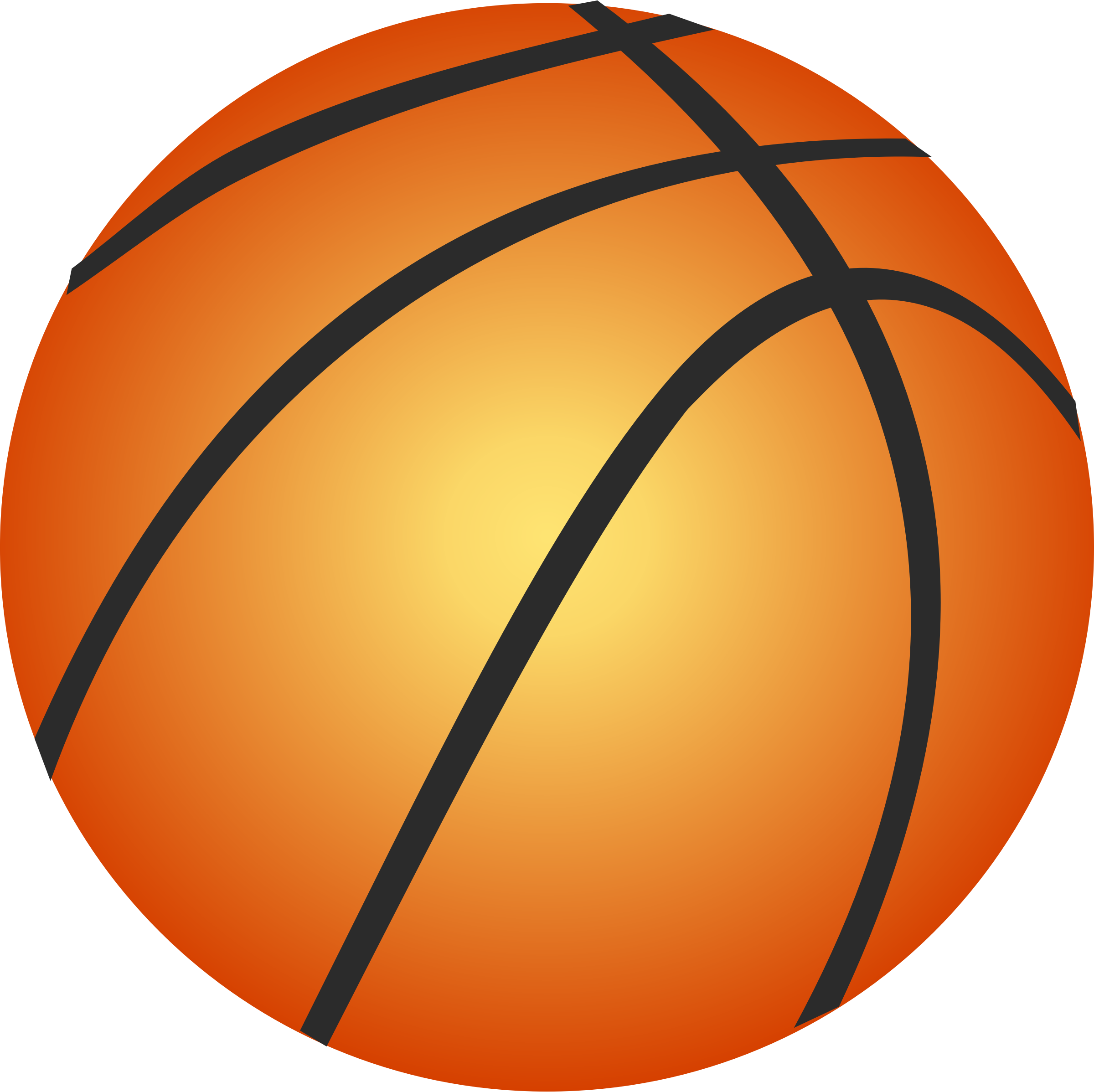 Vector Basketball by freevectorfinder