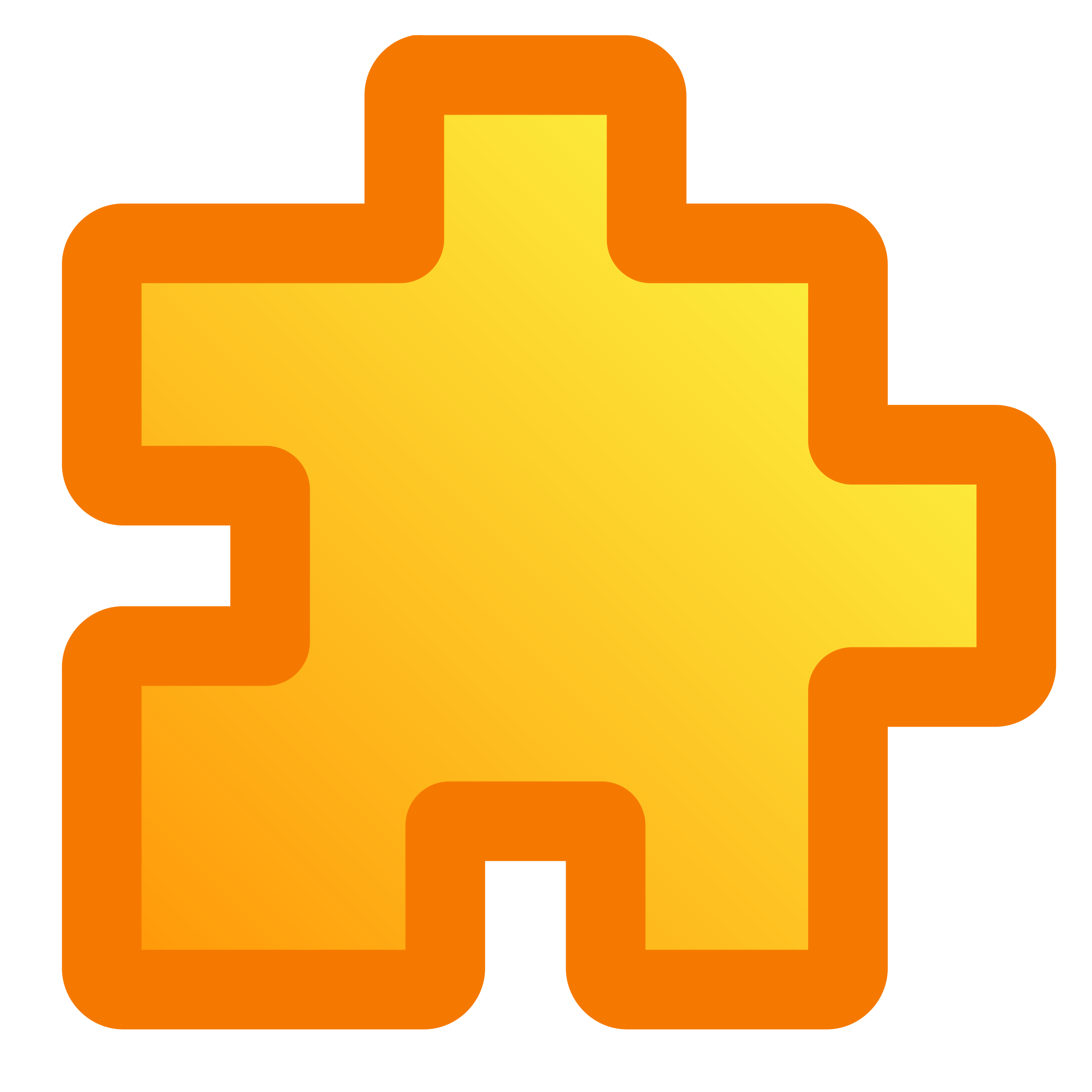 icon-puzzle-yellow by jean_victor_balin