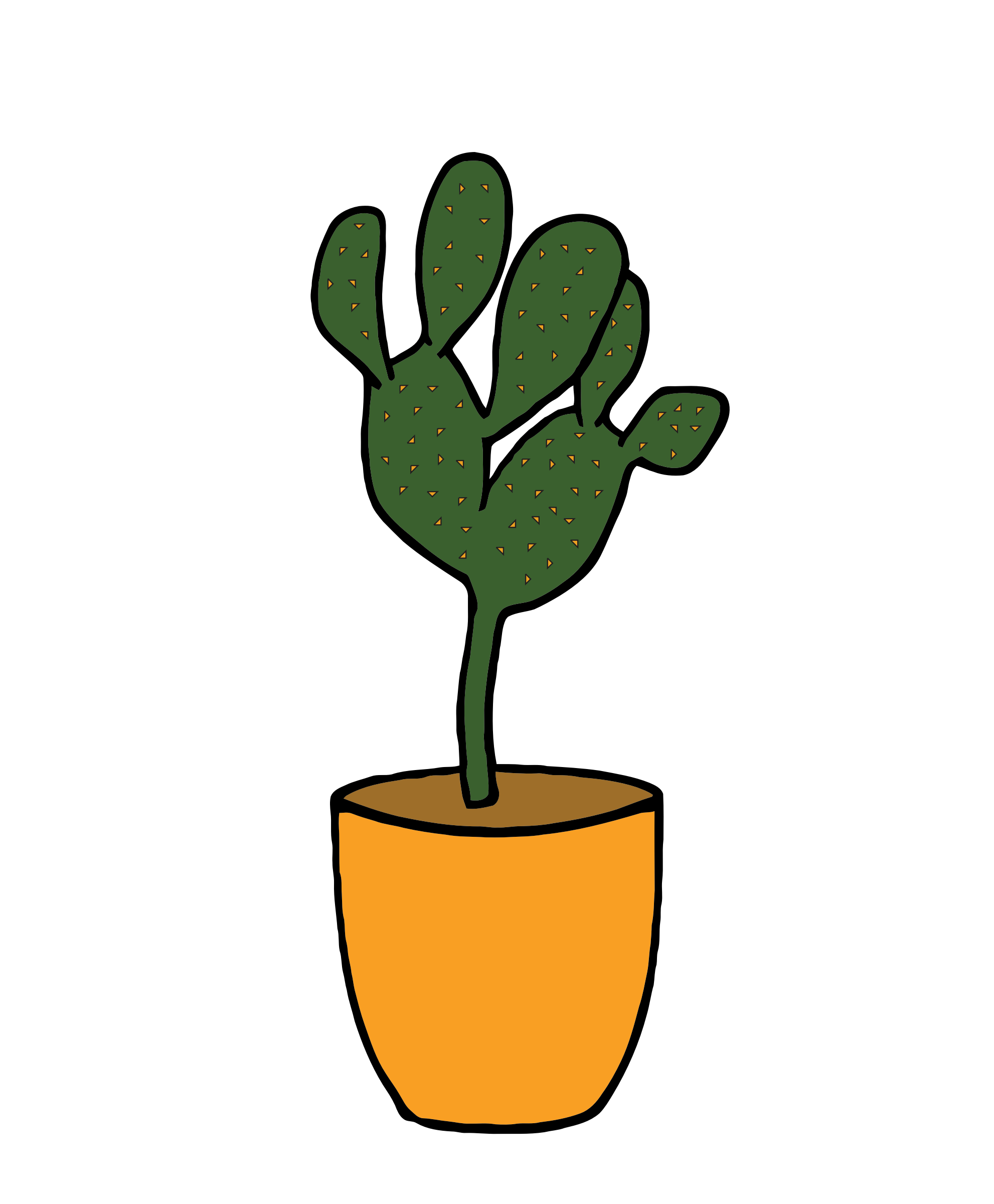 Cactus - Plants 001 by TikiGiki