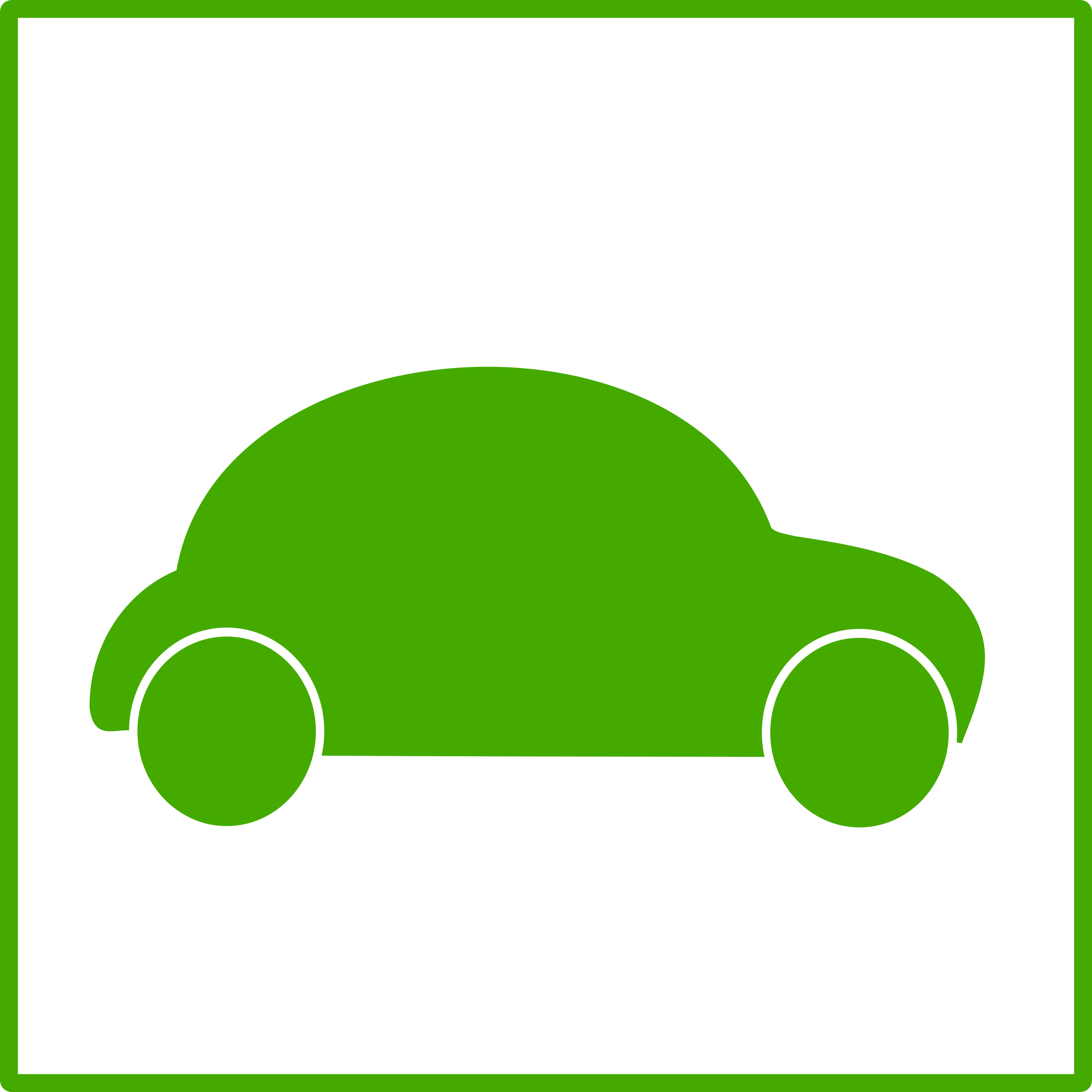 eco green car icon by dominiquechappard