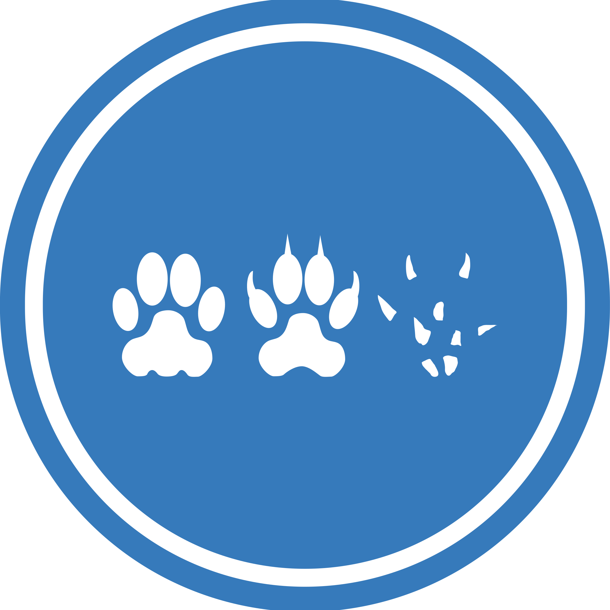 Cat-Dog-Mouse Unification Peace Logo by qubodup