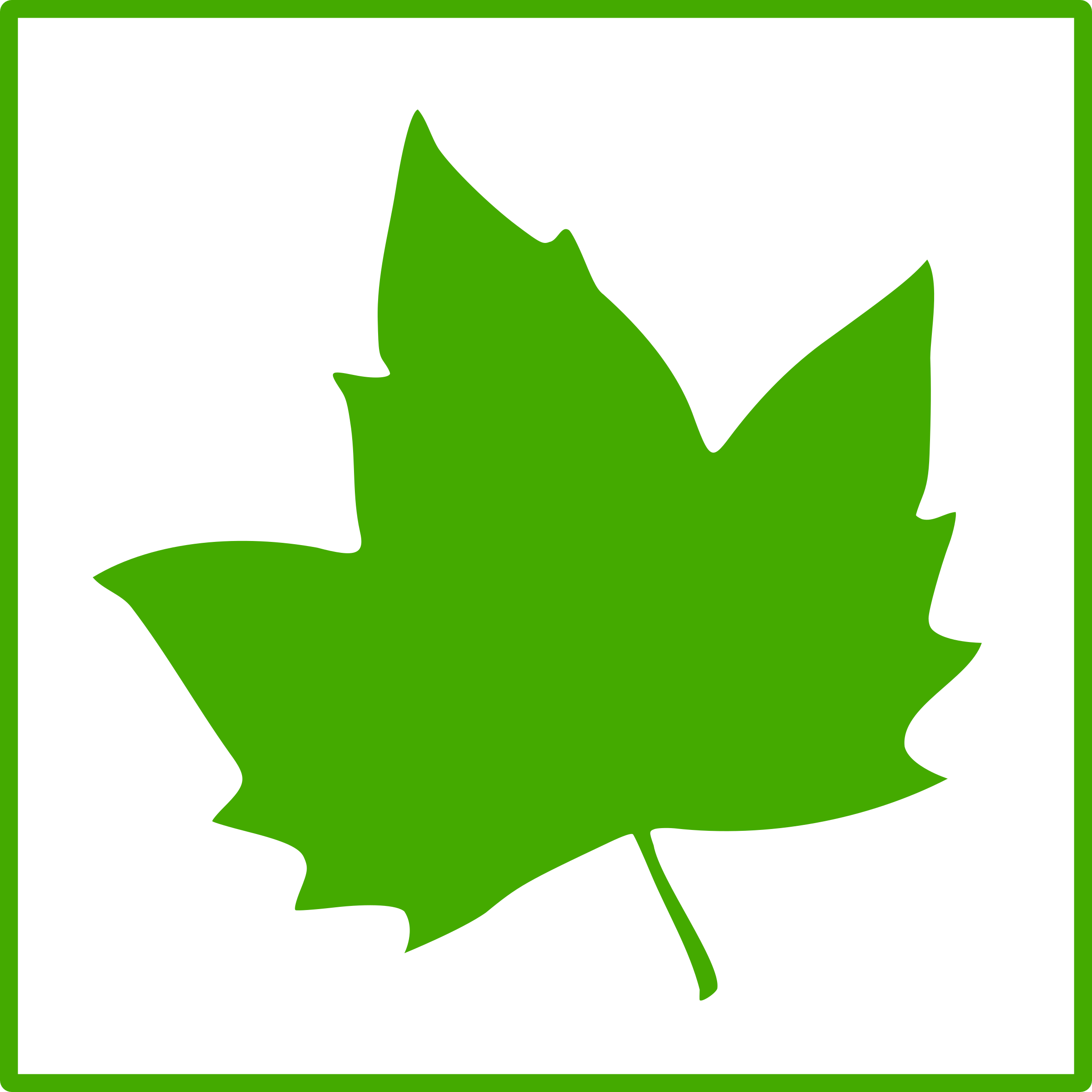eco green leaf icon by dominiquechappard