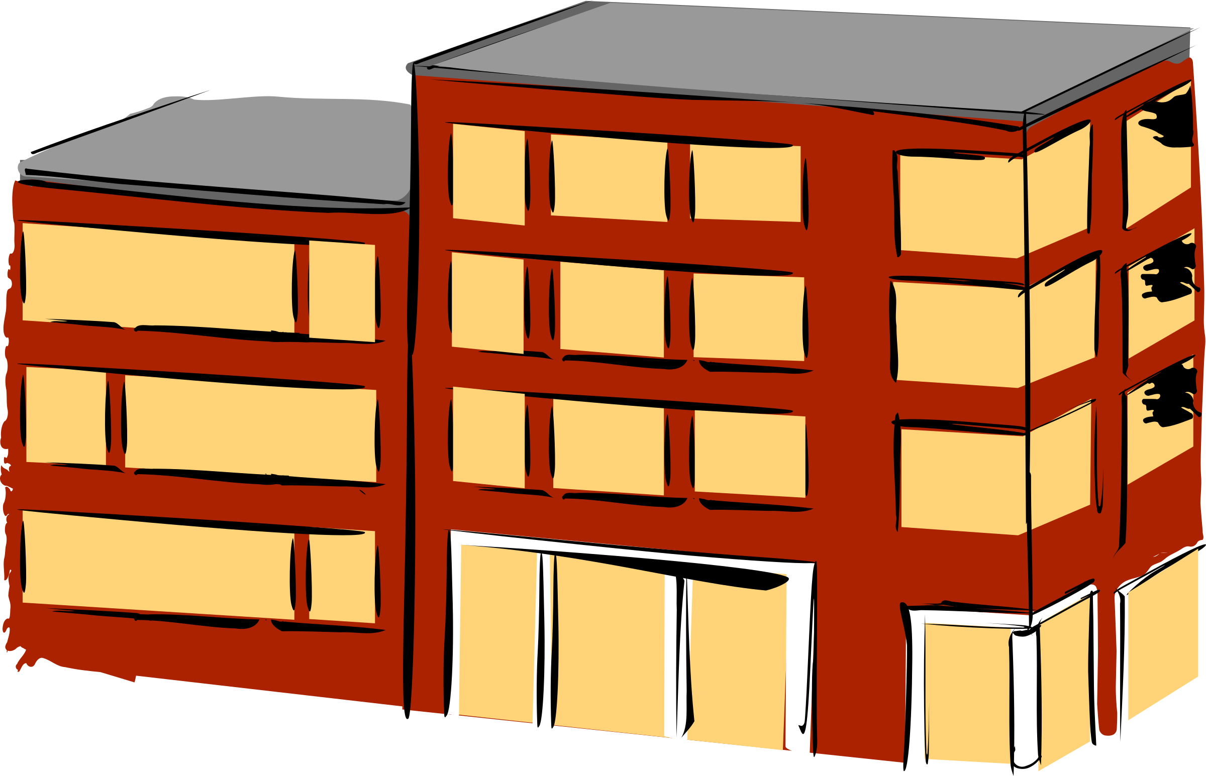 Apartment building by rdevries