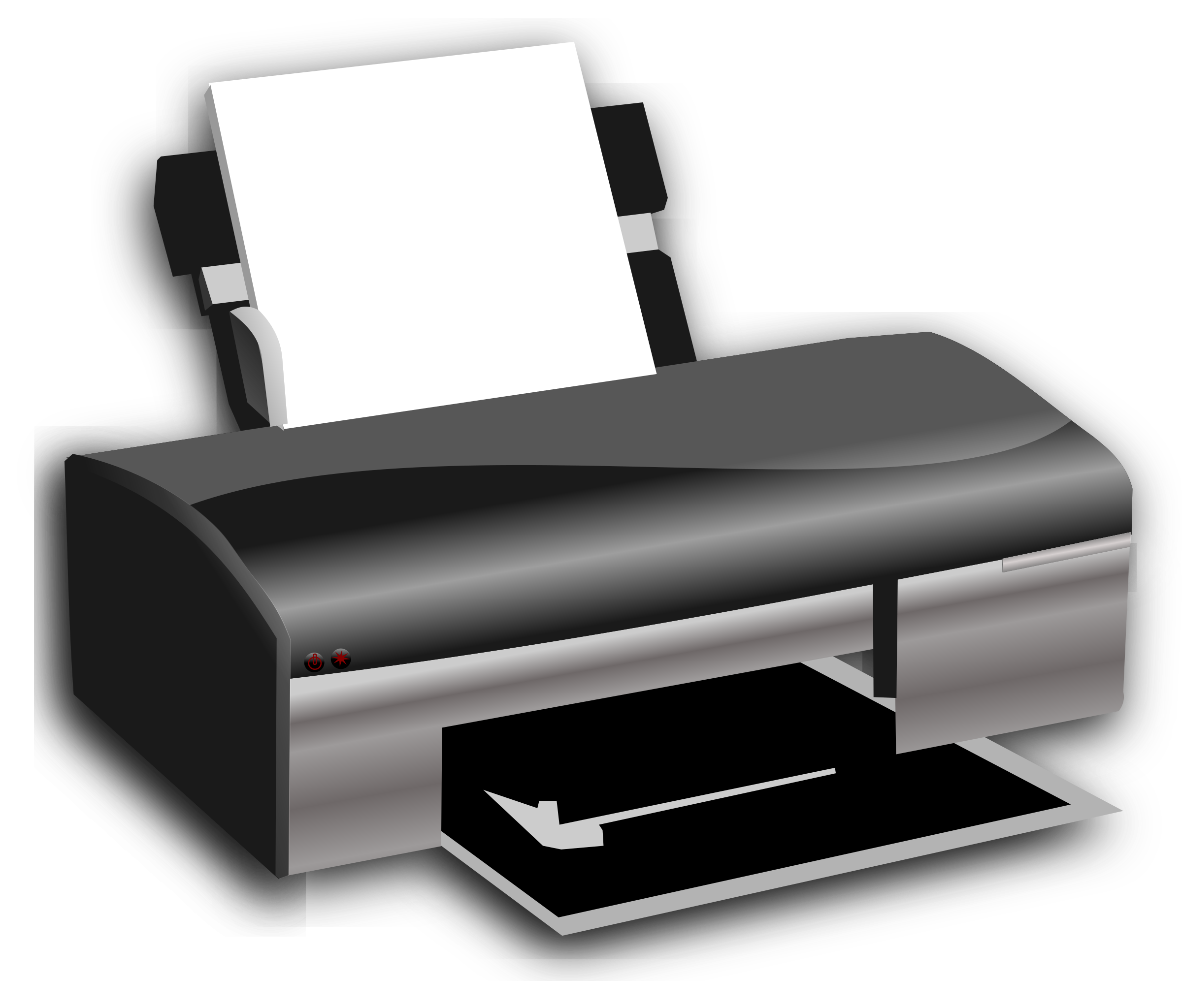 OpenClipArt on Printer by hatalar205