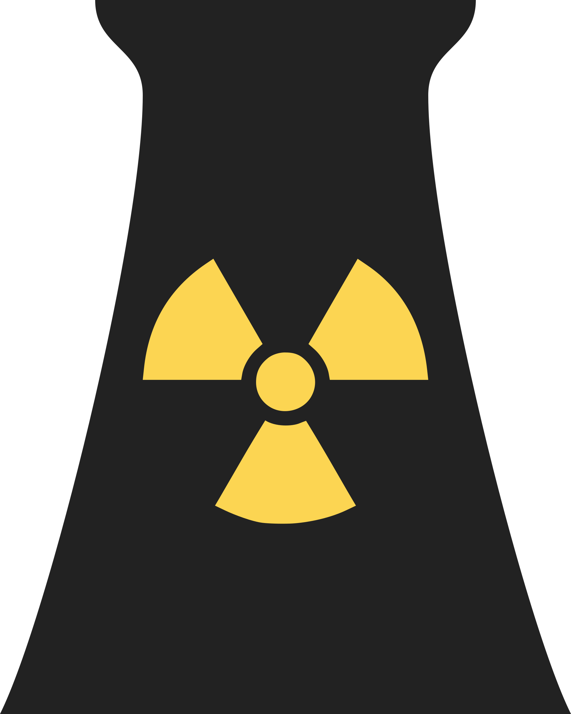 Clipart - Nuclear Power Plant Symbol 1