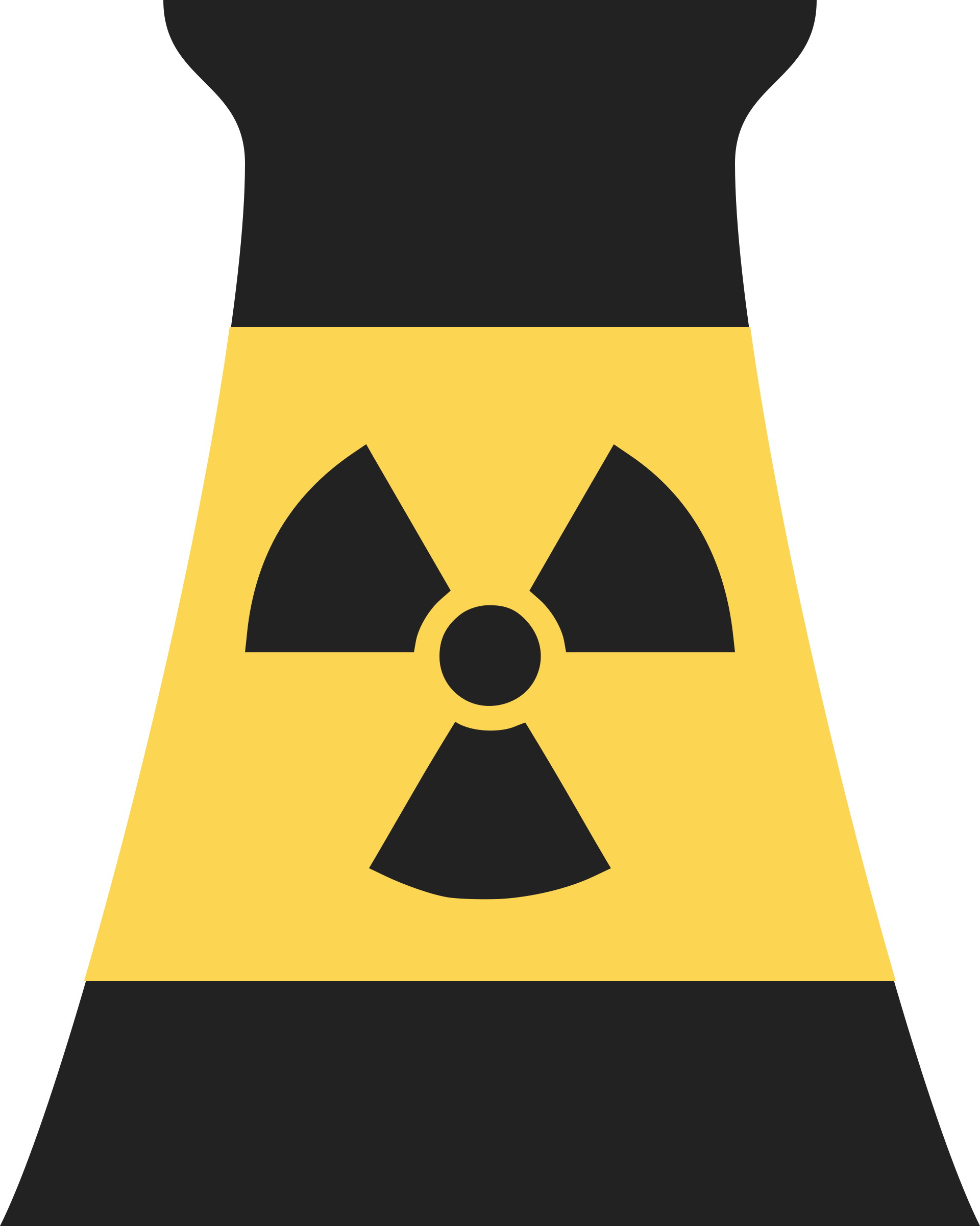 Nuclear Power Plant Reactor Symbol 2 by qubodup