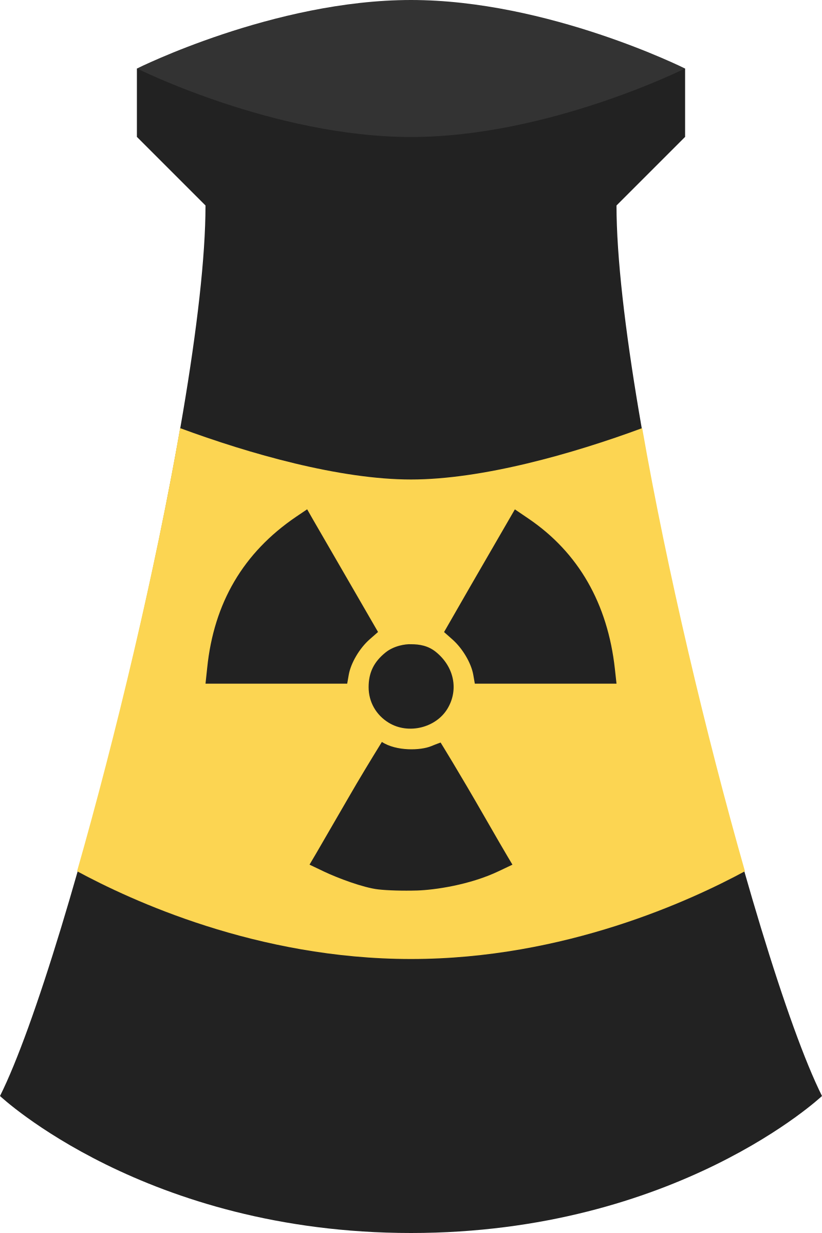 Atomic Energy Plant Symbol 4 by qubodup