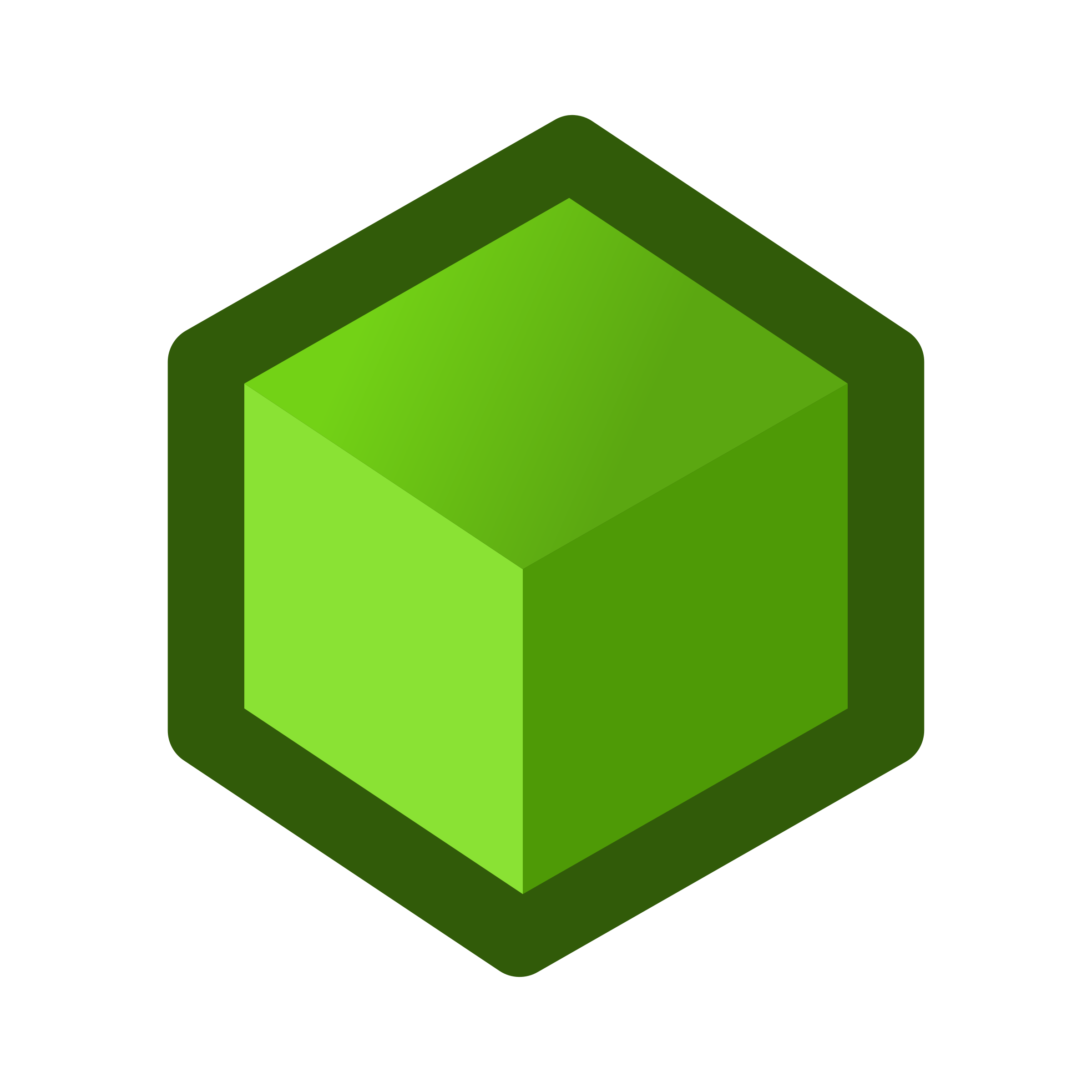 icon-cube-green by jean_victor_balin