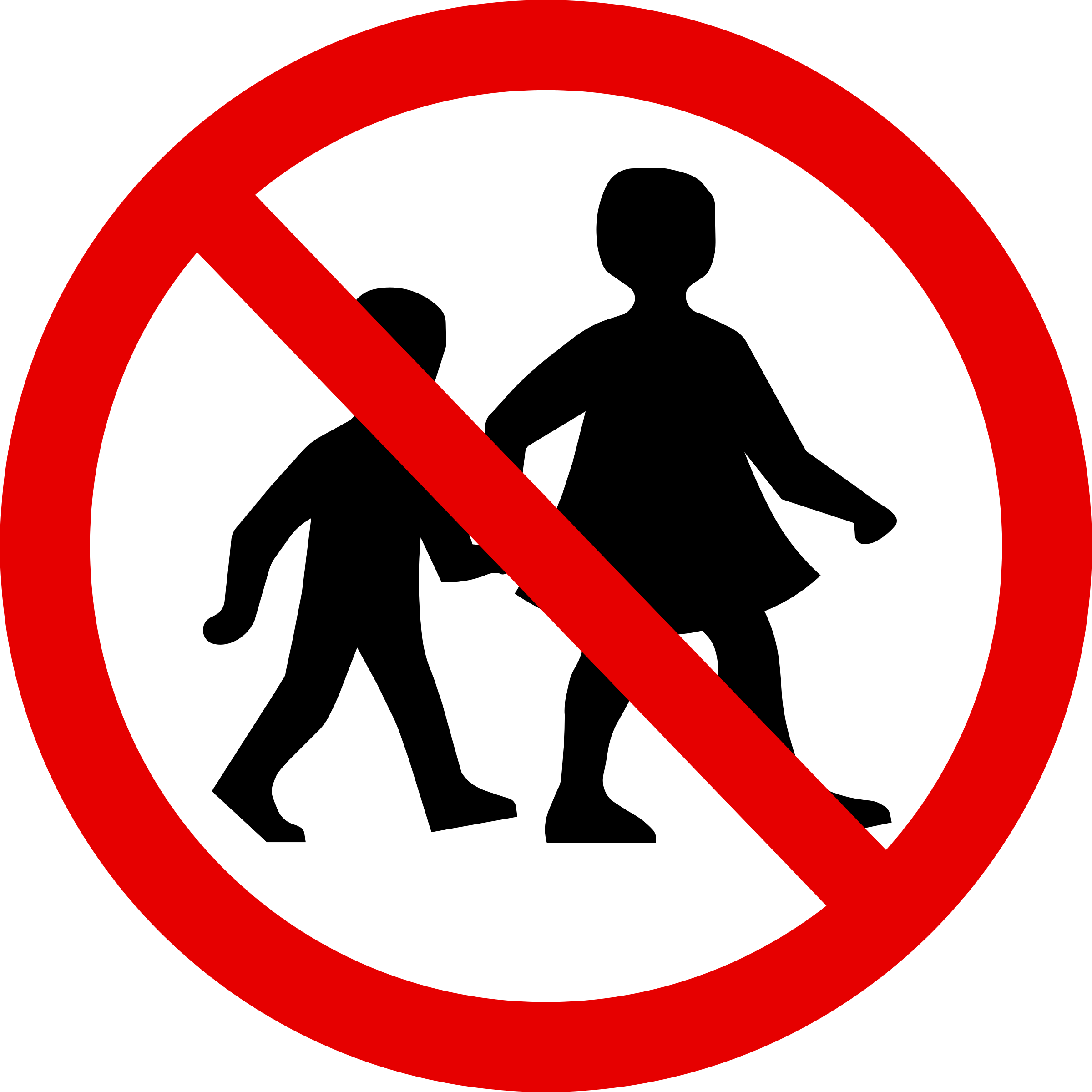 No Children Sign by pydubreucq