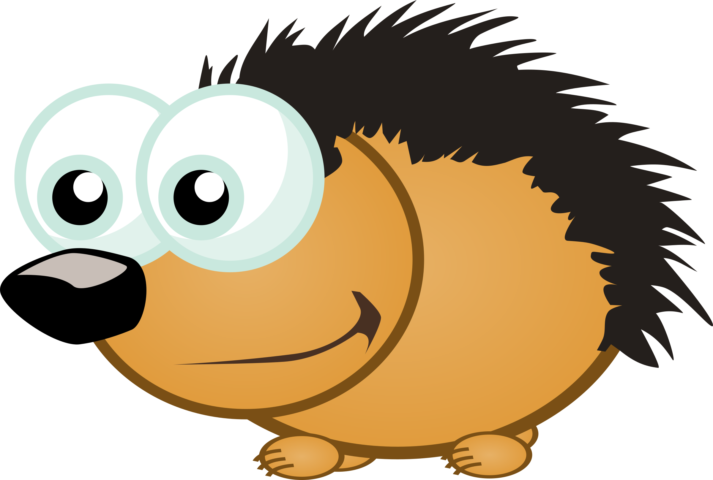 Small Hedgehog by Magnesus