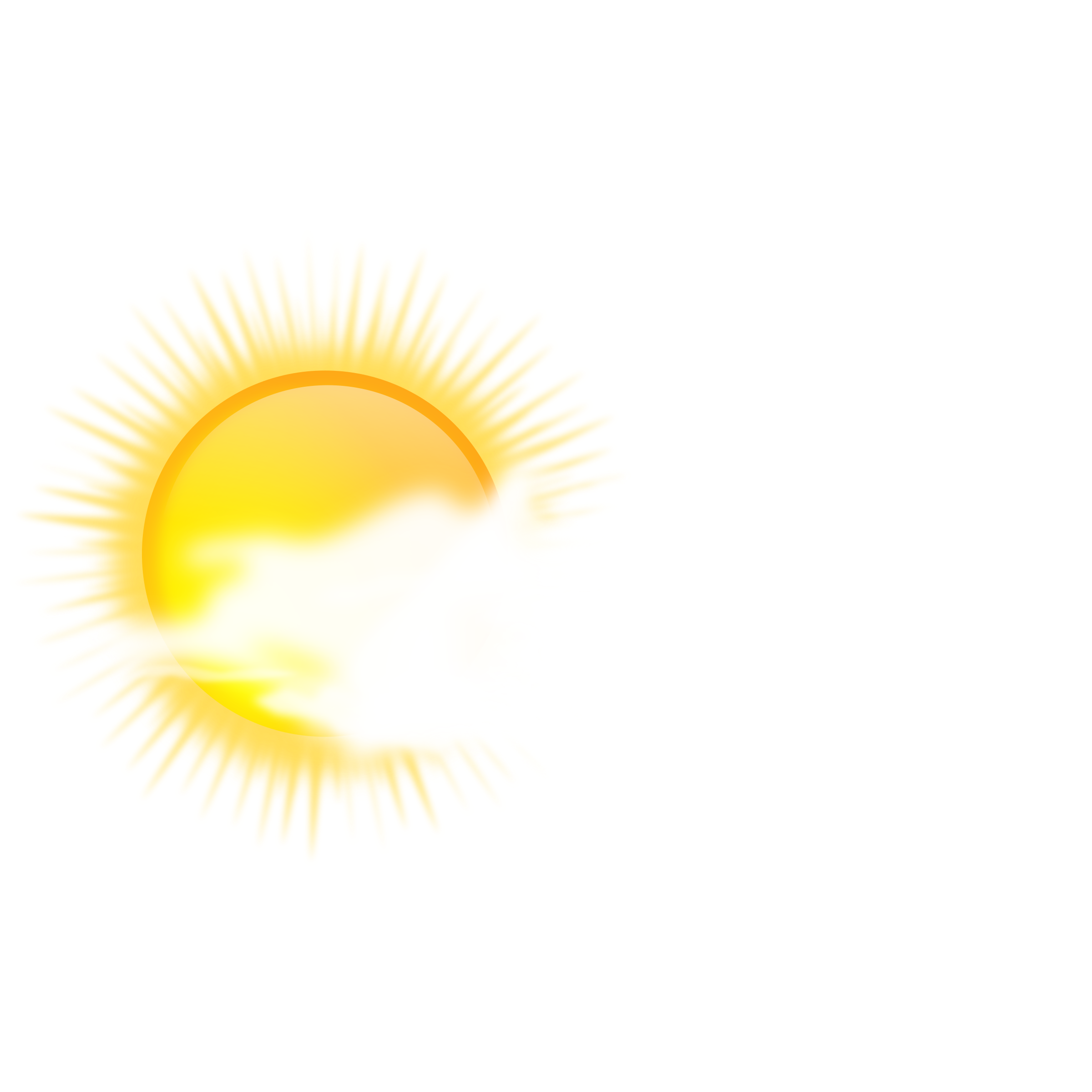 weather icon - sunny to cloudy by gnokii