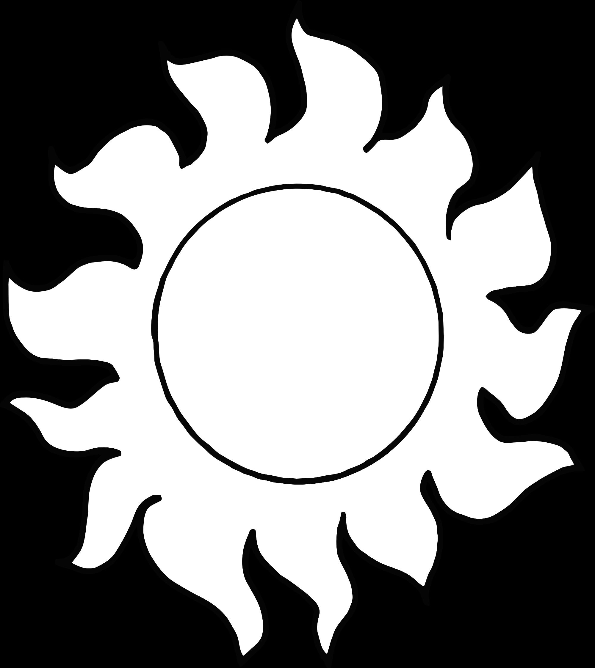 Line Art Sun : Clipart sun abstract