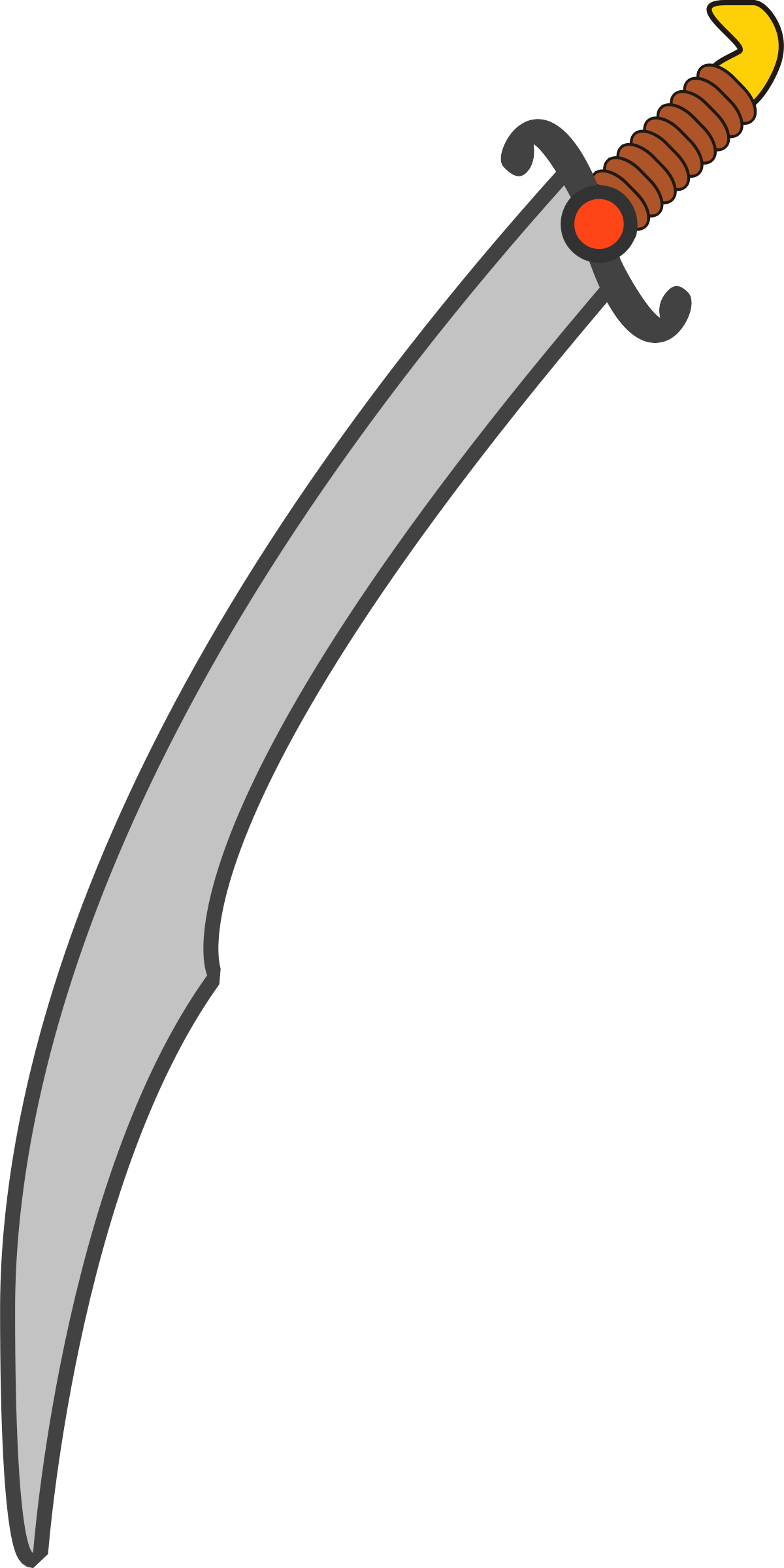 Long Scimitar by qubodup