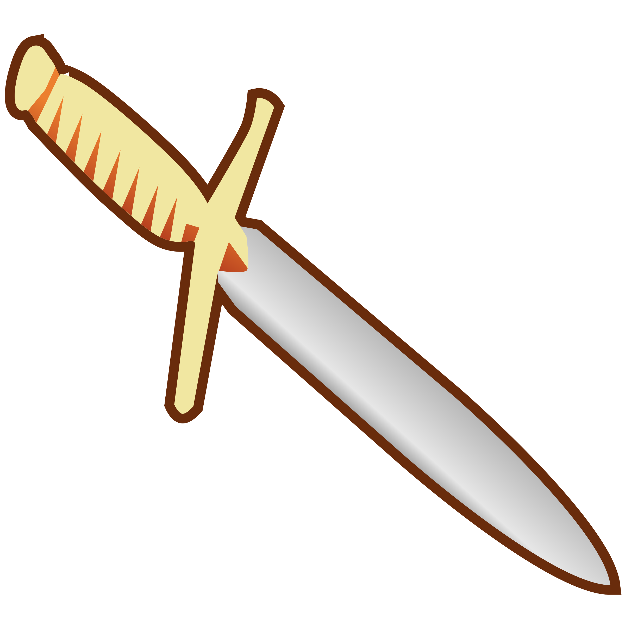 Simple Pagan Knife Icon by qubodup