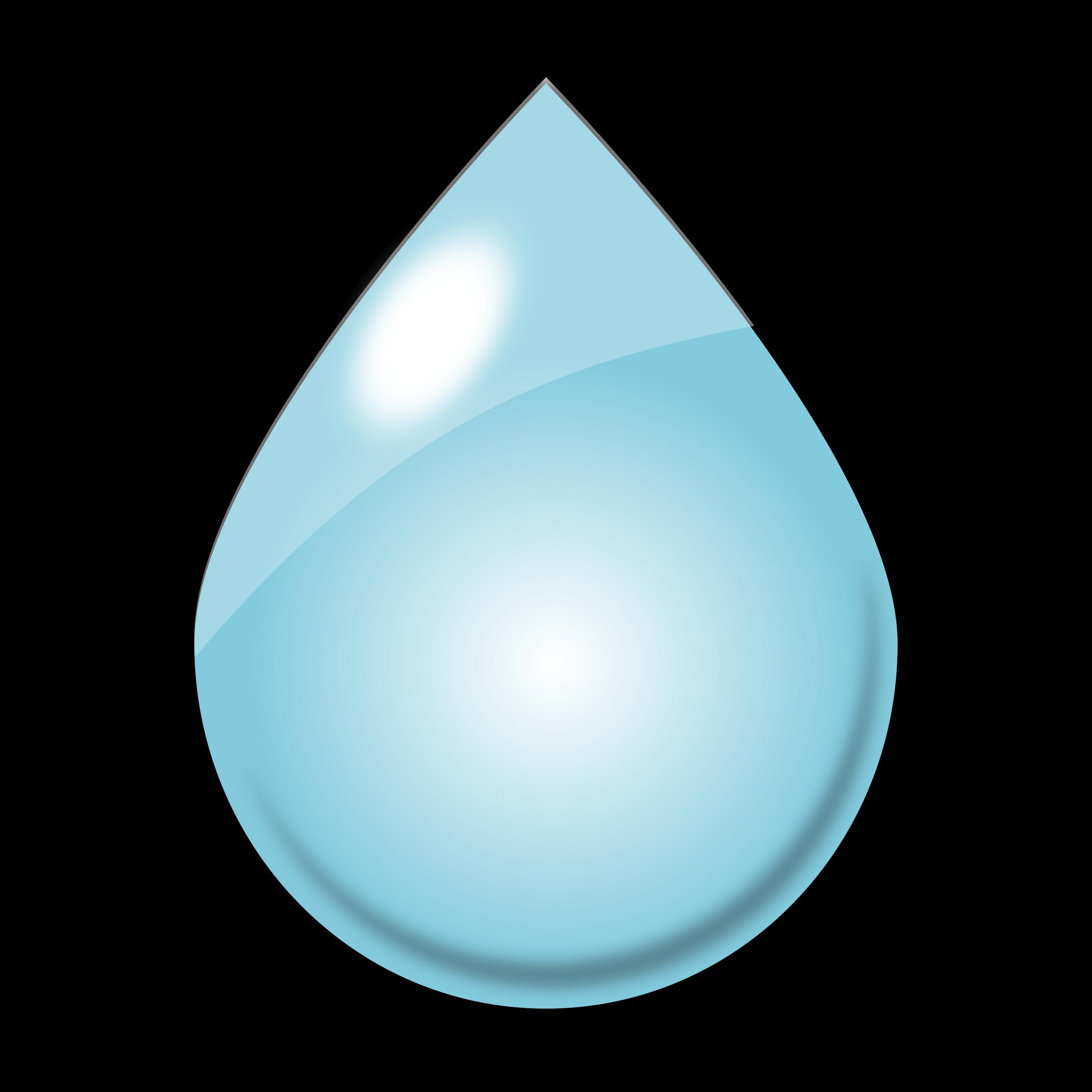 Raindrop Clip Art Clipart - raindrop1