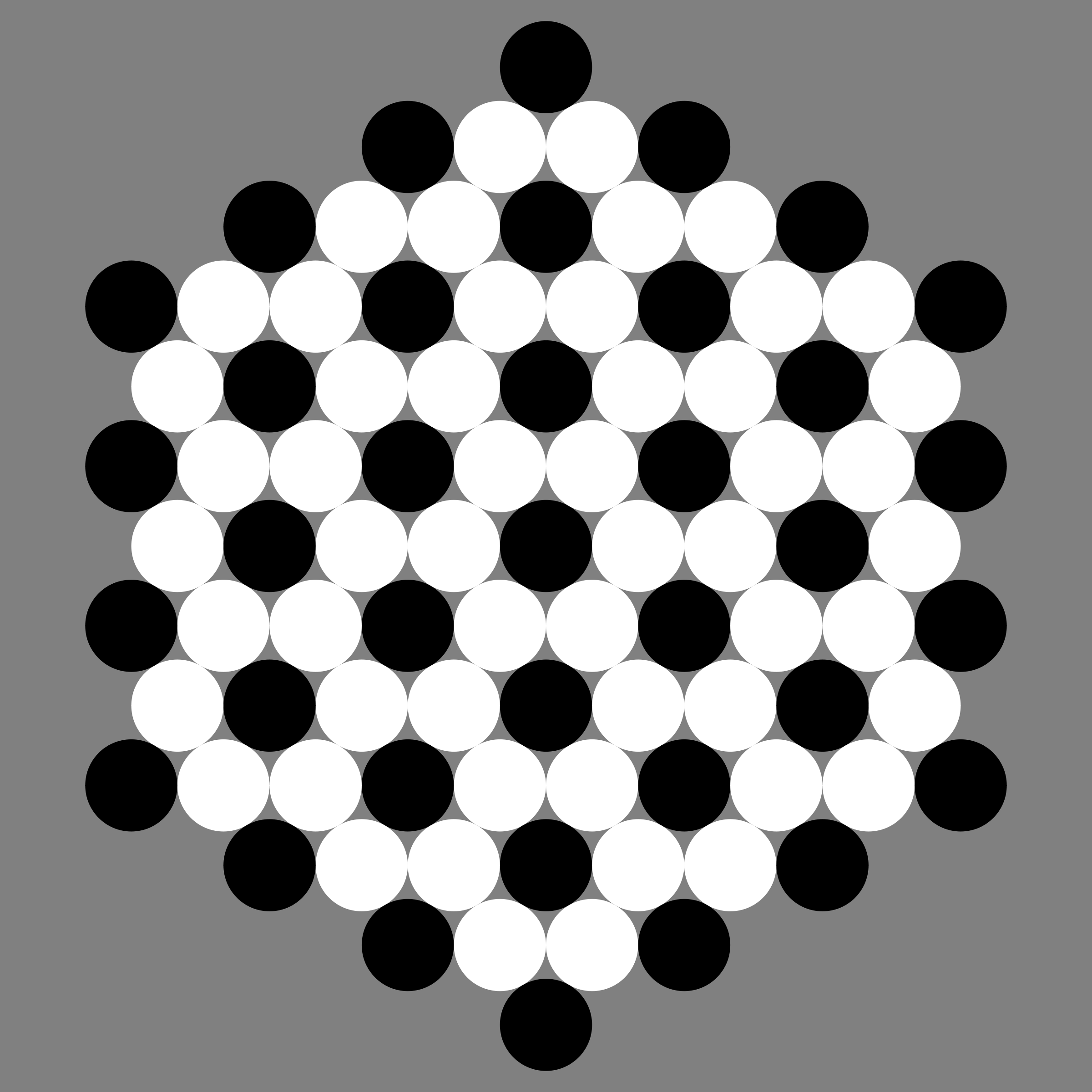 June 25 2012 black and white circles by 10binary