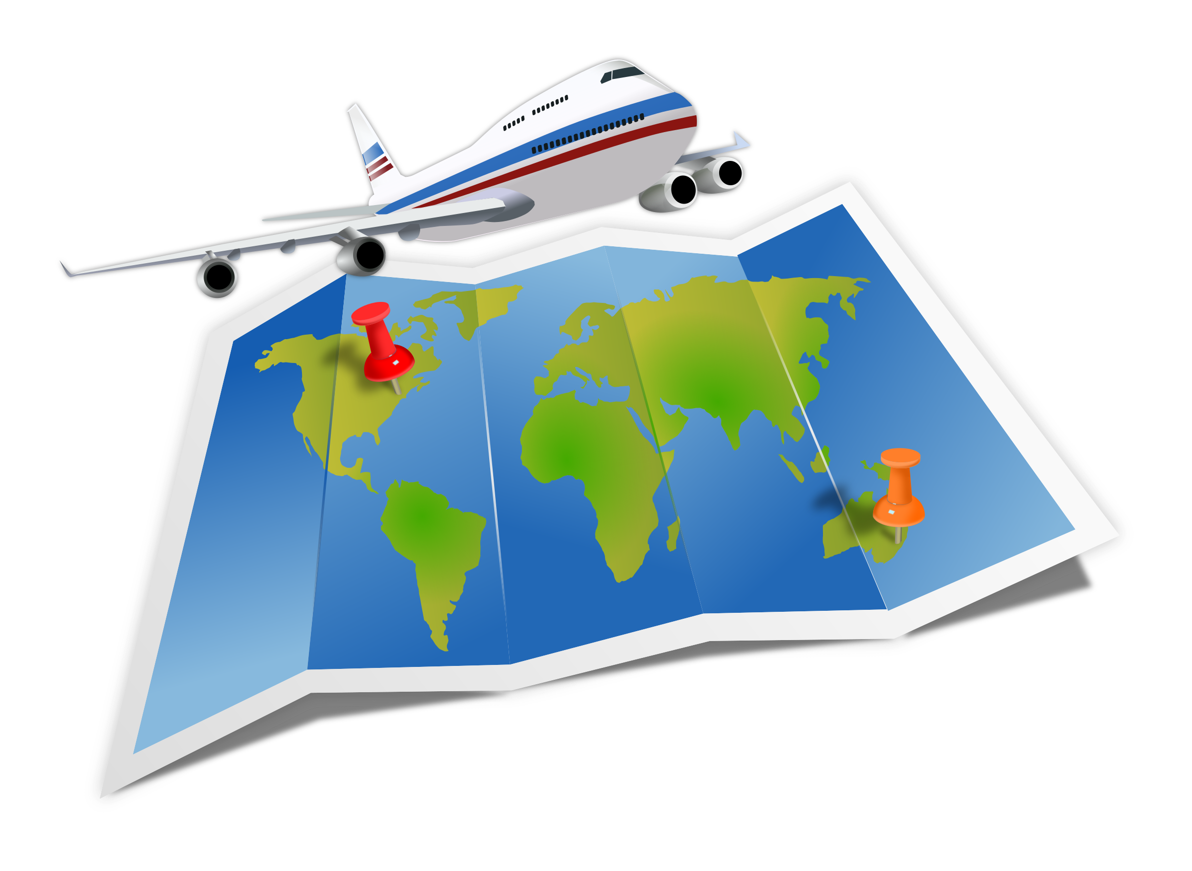 clipart travel map rh openclipart org travel clip art travel clipart free download