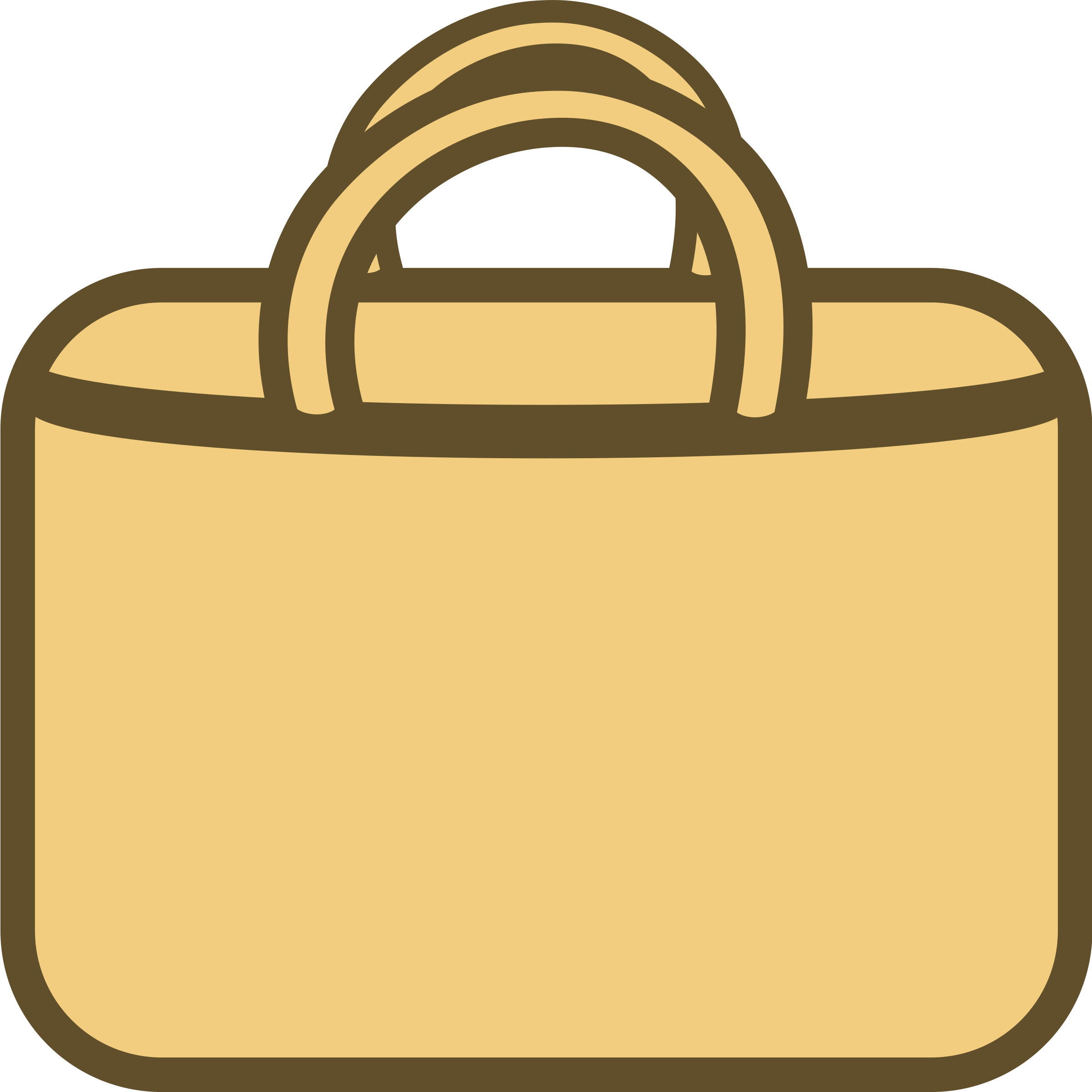 Simple Shopping Bag Logo/Icon by qubodup