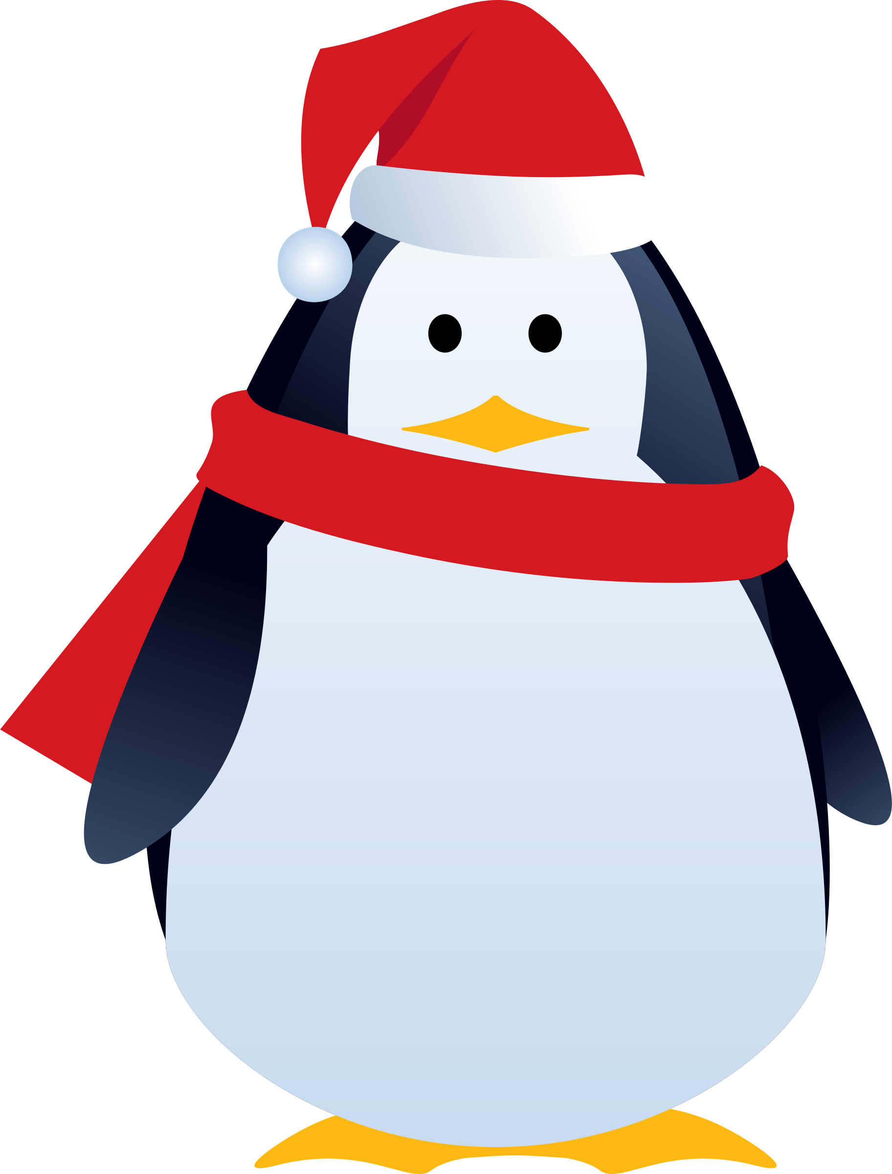 christmas penguin by LiesdeR