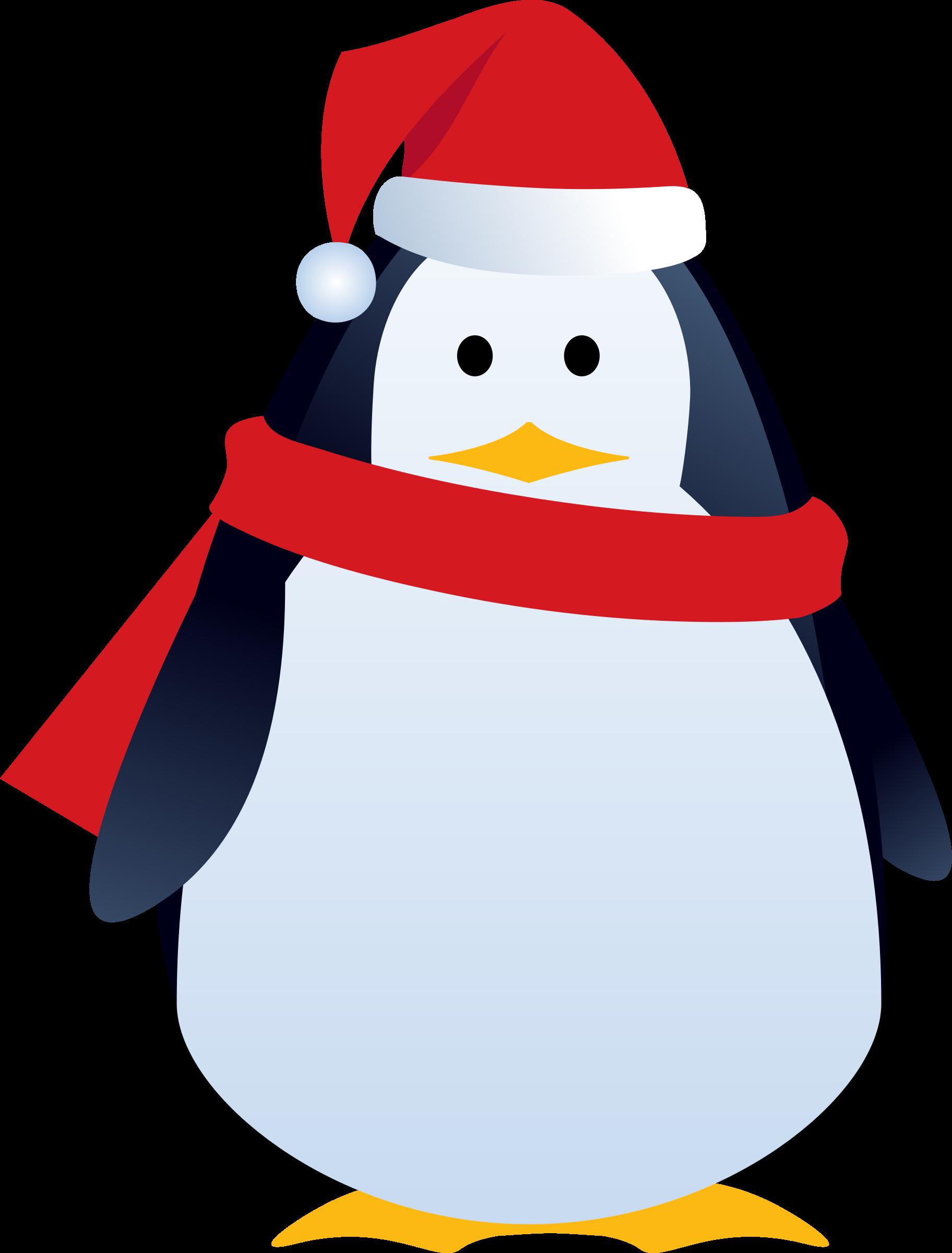 christmas penguin by LiesdeR
