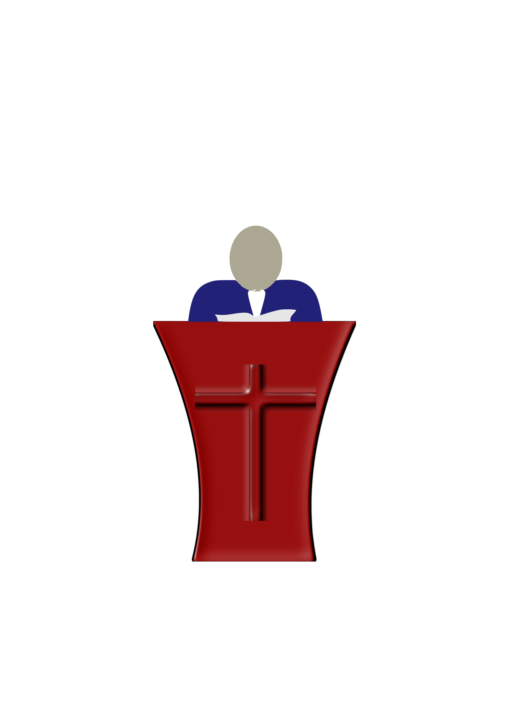 clipart preacher rh openclipart org preacher clip art free preacher clip art free
