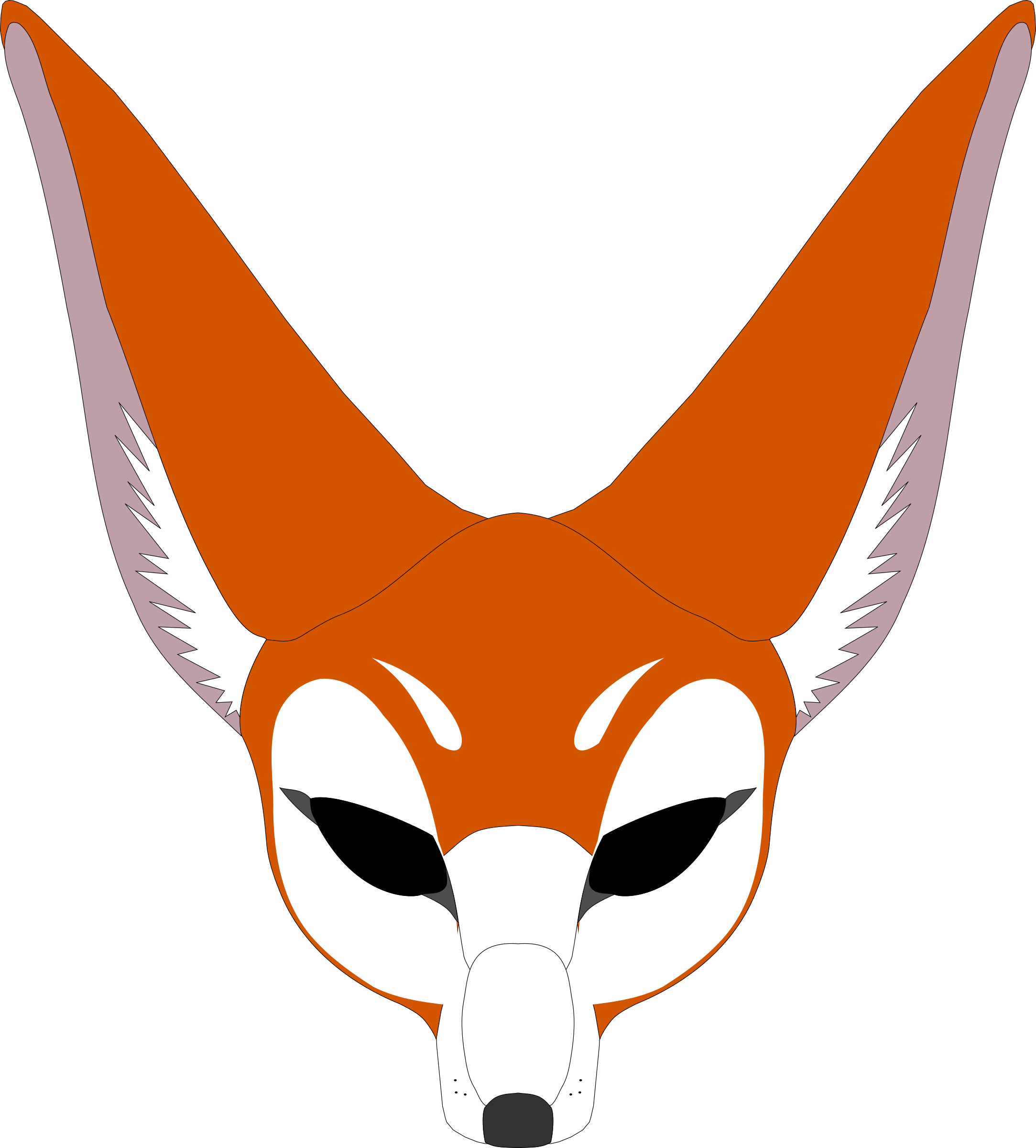 Fox mask by stilg4r