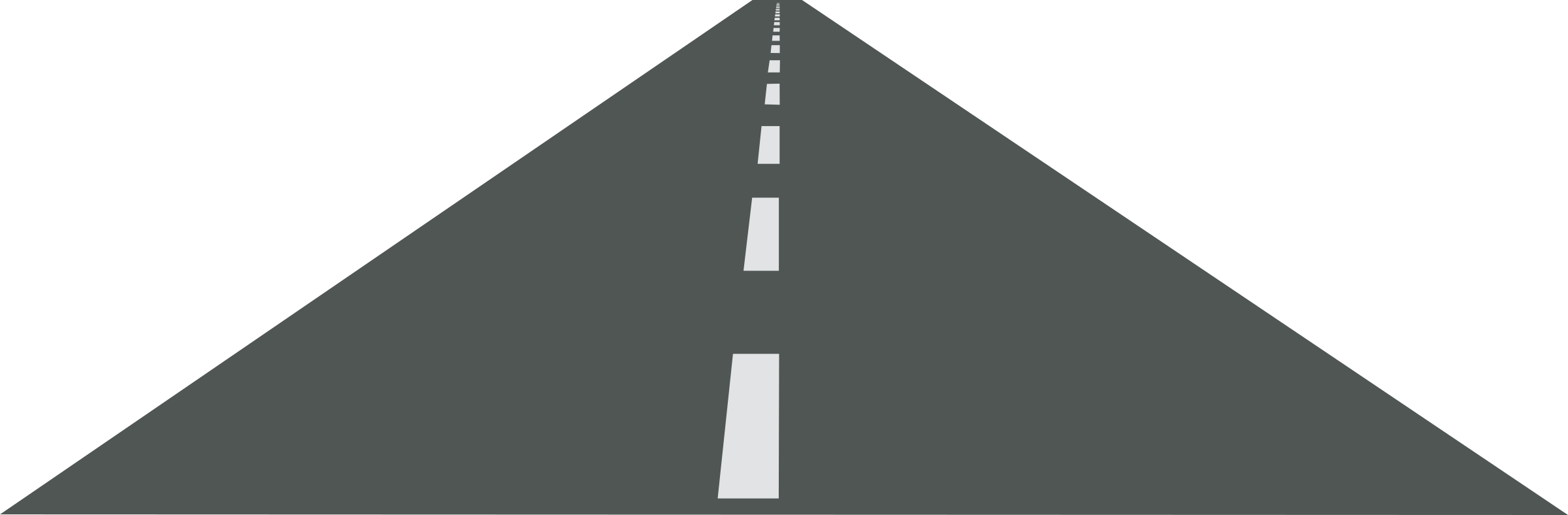 Clipart - Open road