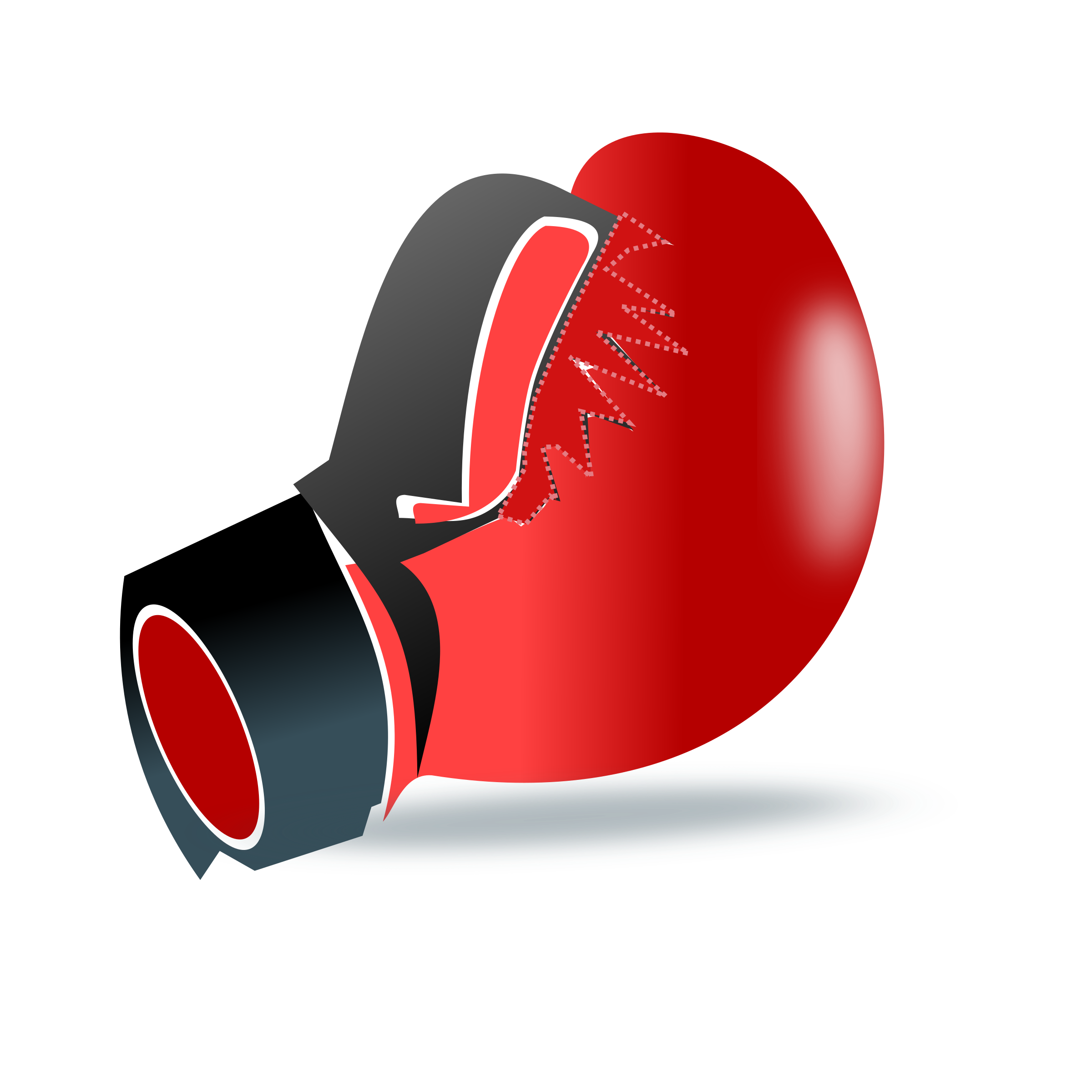 Clipart - Boxing glove