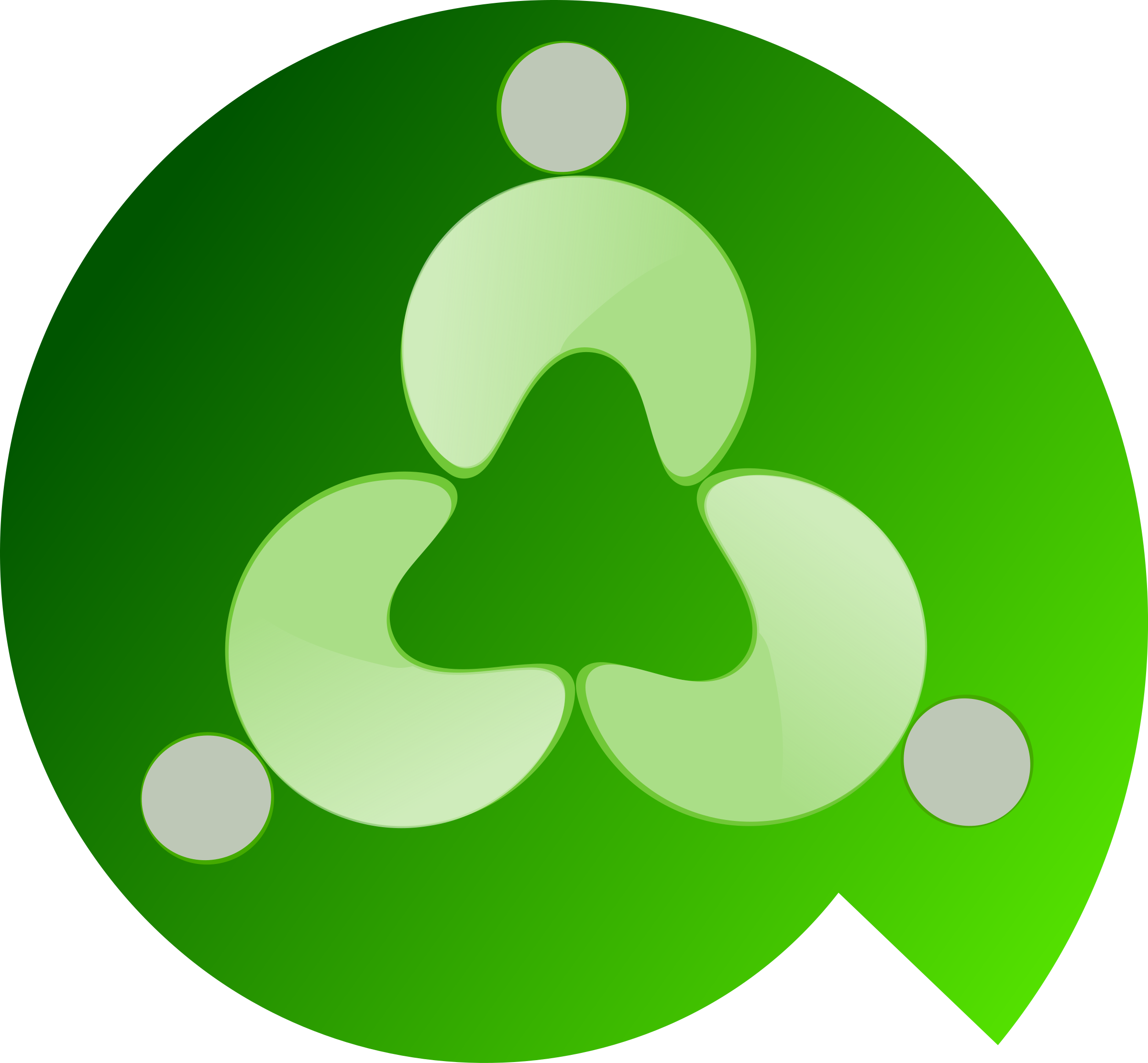 logo green by garbageht