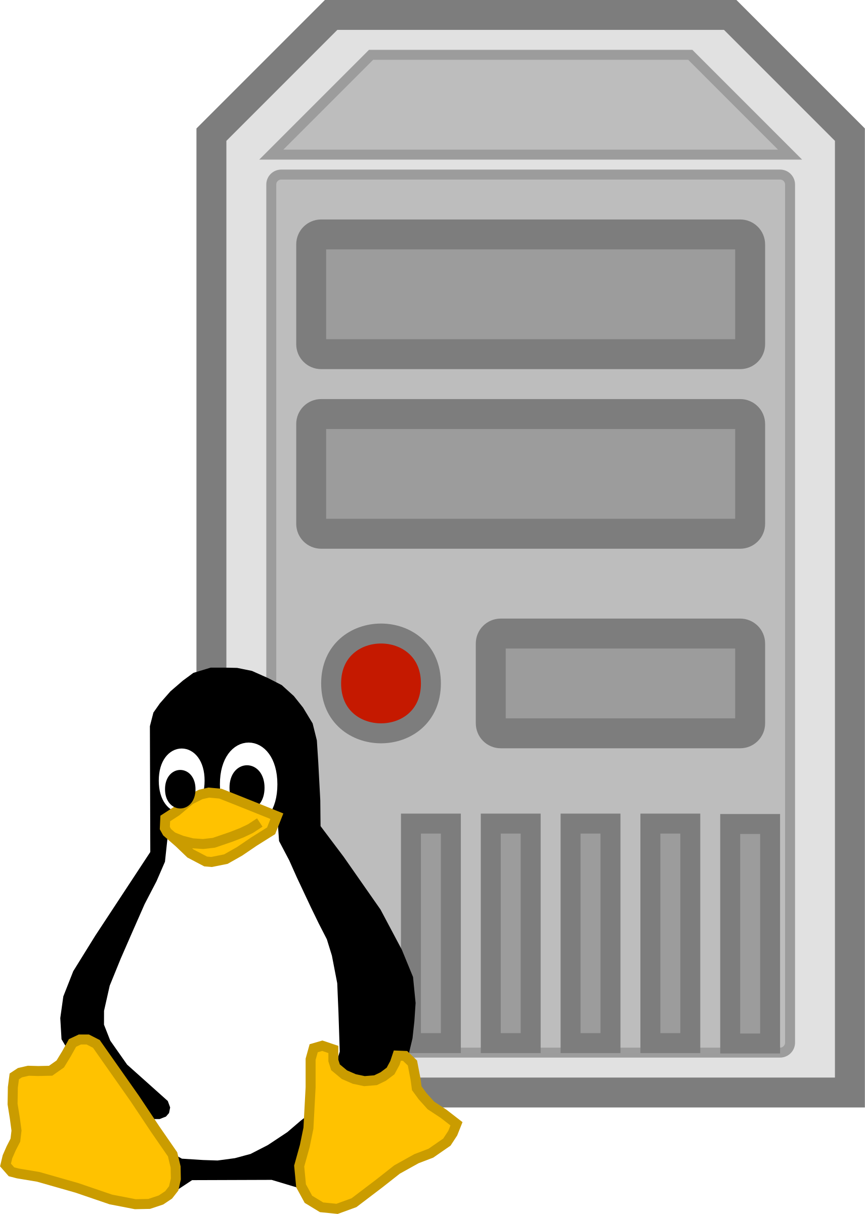 Server - linux by cyberscooty