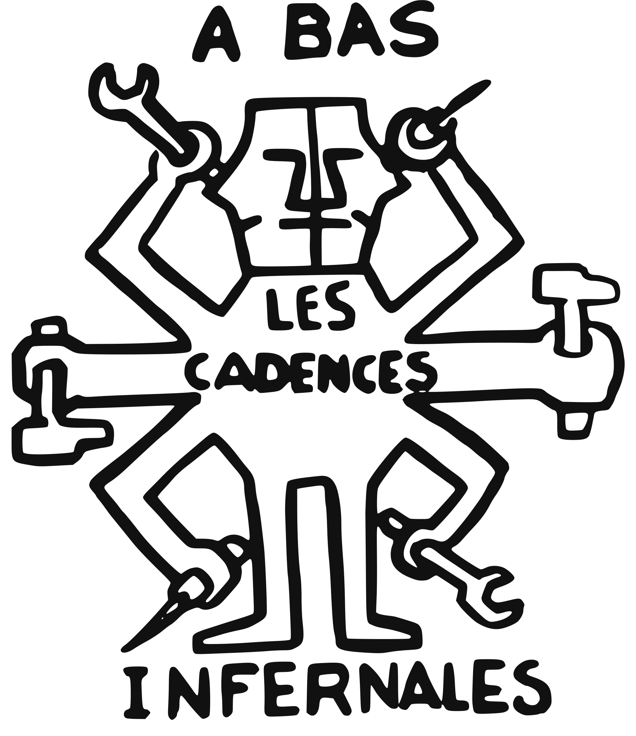 Cadences Infernales (Infernal work pace) by ben